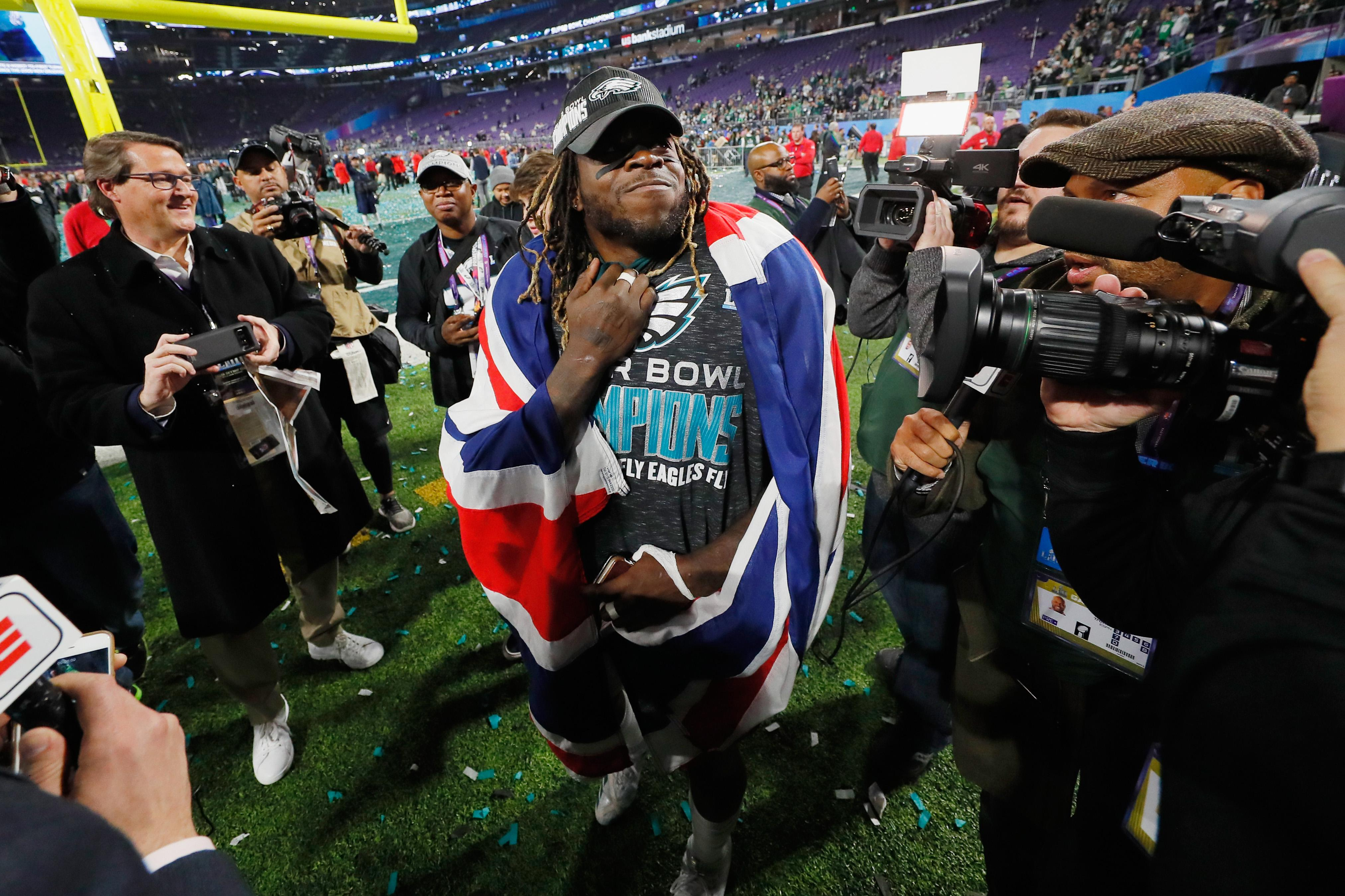Londoner Jay Ajayi won the trophy last season but suffered a season-ending injury in October
