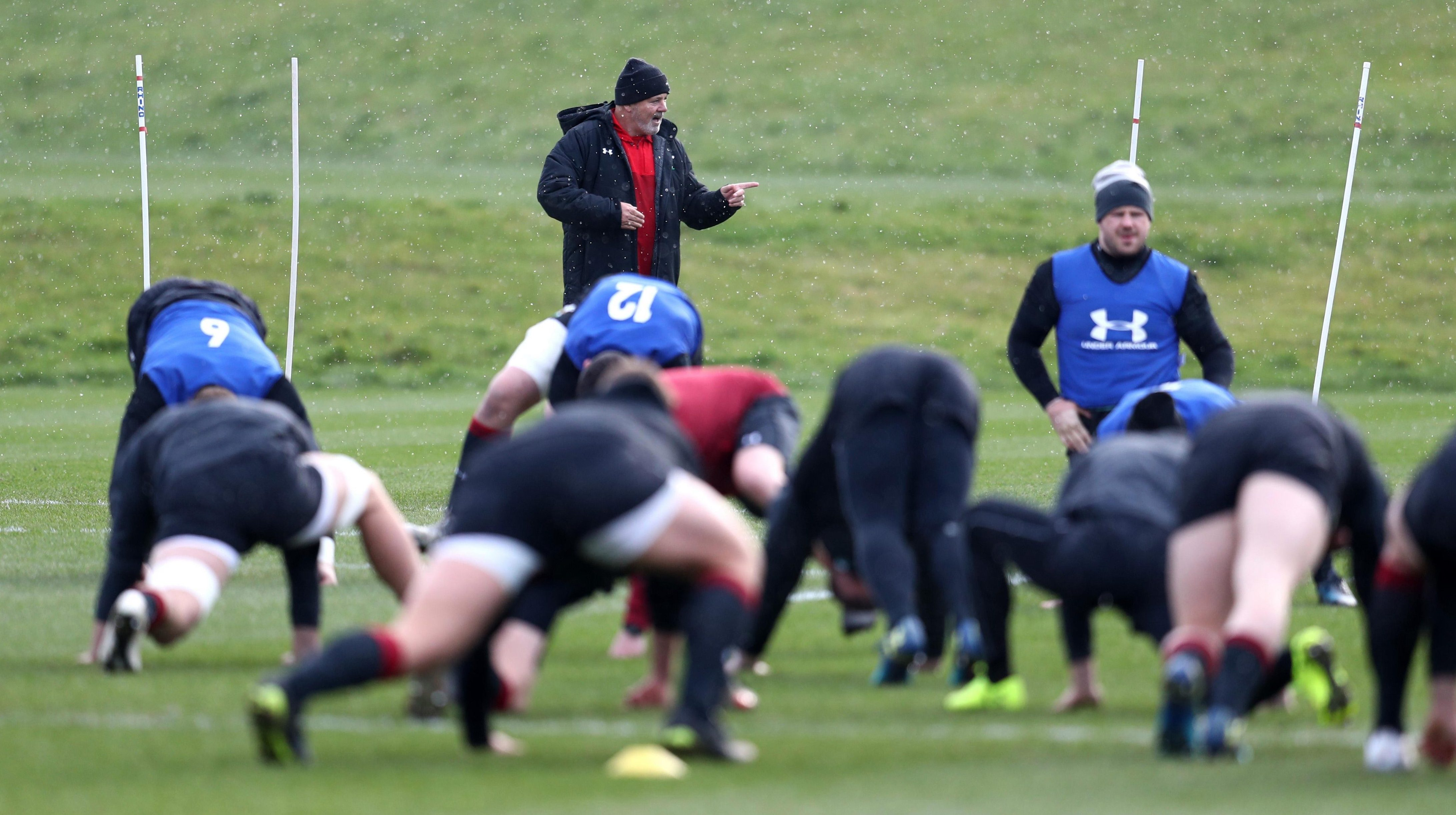 Wales face England in the Six Nations crunch