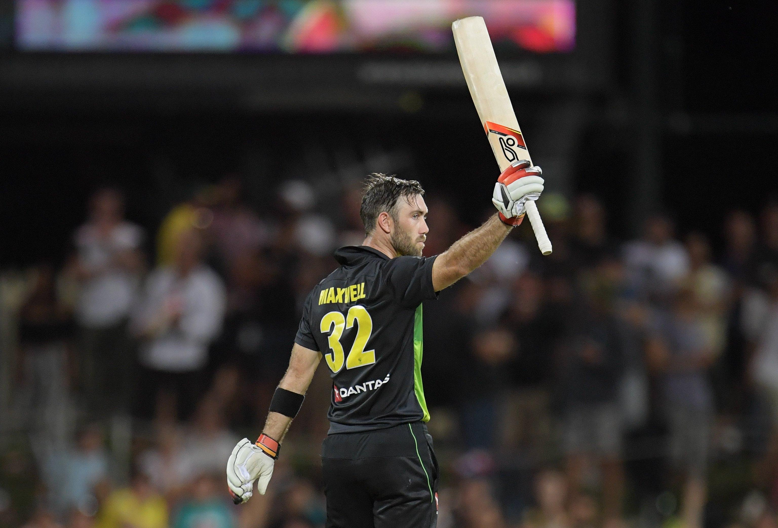 Glenn Maxwell fired Australia to victory over England in Hobart
