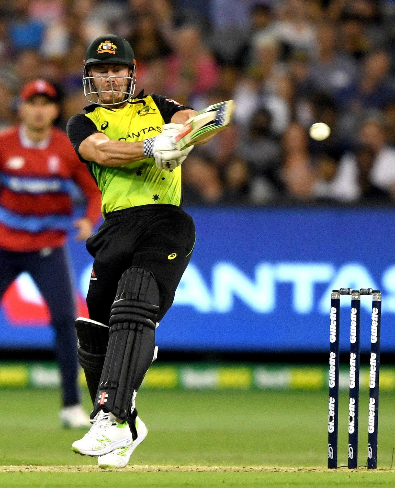 Chris Lynn saw Australia get off to a quick start after David Warner's departure
