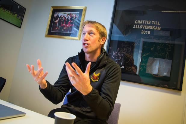 nintchdbpict000384083570 - Ostersunds' rapping English boss Graham Potter knows Arsenal will face the music in Europa League clash