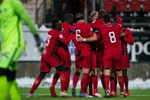 nintchdbpict000384083607 - Ostersunds' rapping English boss Graham Potter knows Arsenal will face the music in Europa League clash