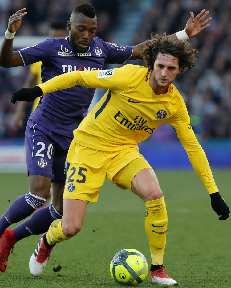Adrien Rabiot accepts the Spanish giants are the more experienced of the two teams
