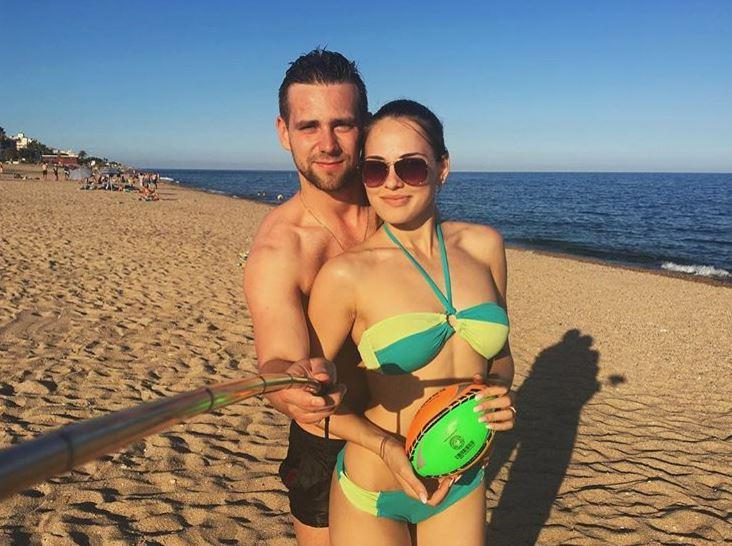 The ace is married to her curling partner Alexander Krushelnitskiy