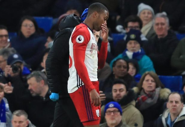 nintchdbpict000384673588 e1518467526695 - Daniel Sturridge limps off with hamstring injury in just third minute of West Brom's visit to Chelsea
