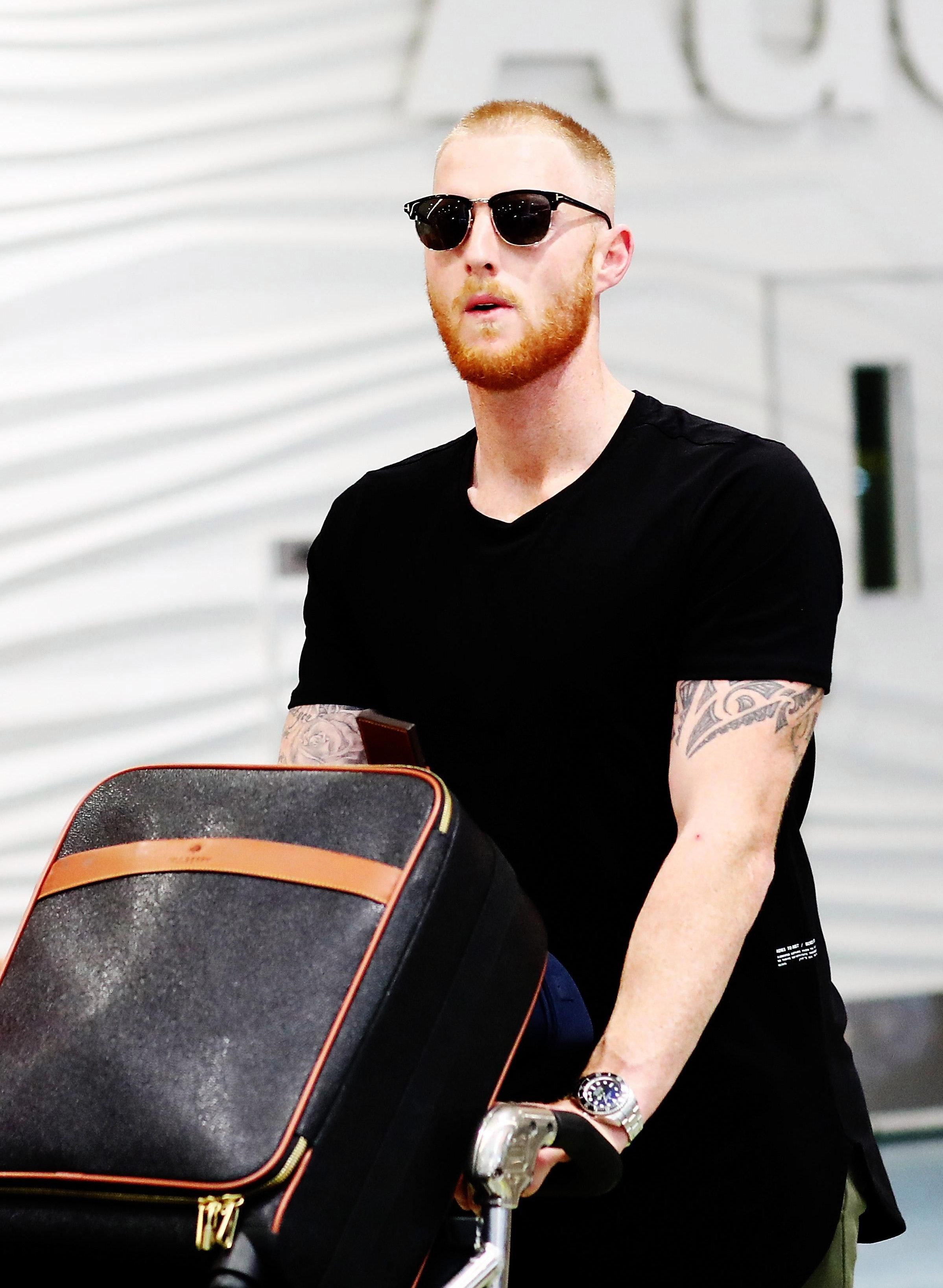 Ben Stokes arrived in New Zealand on Friday morning