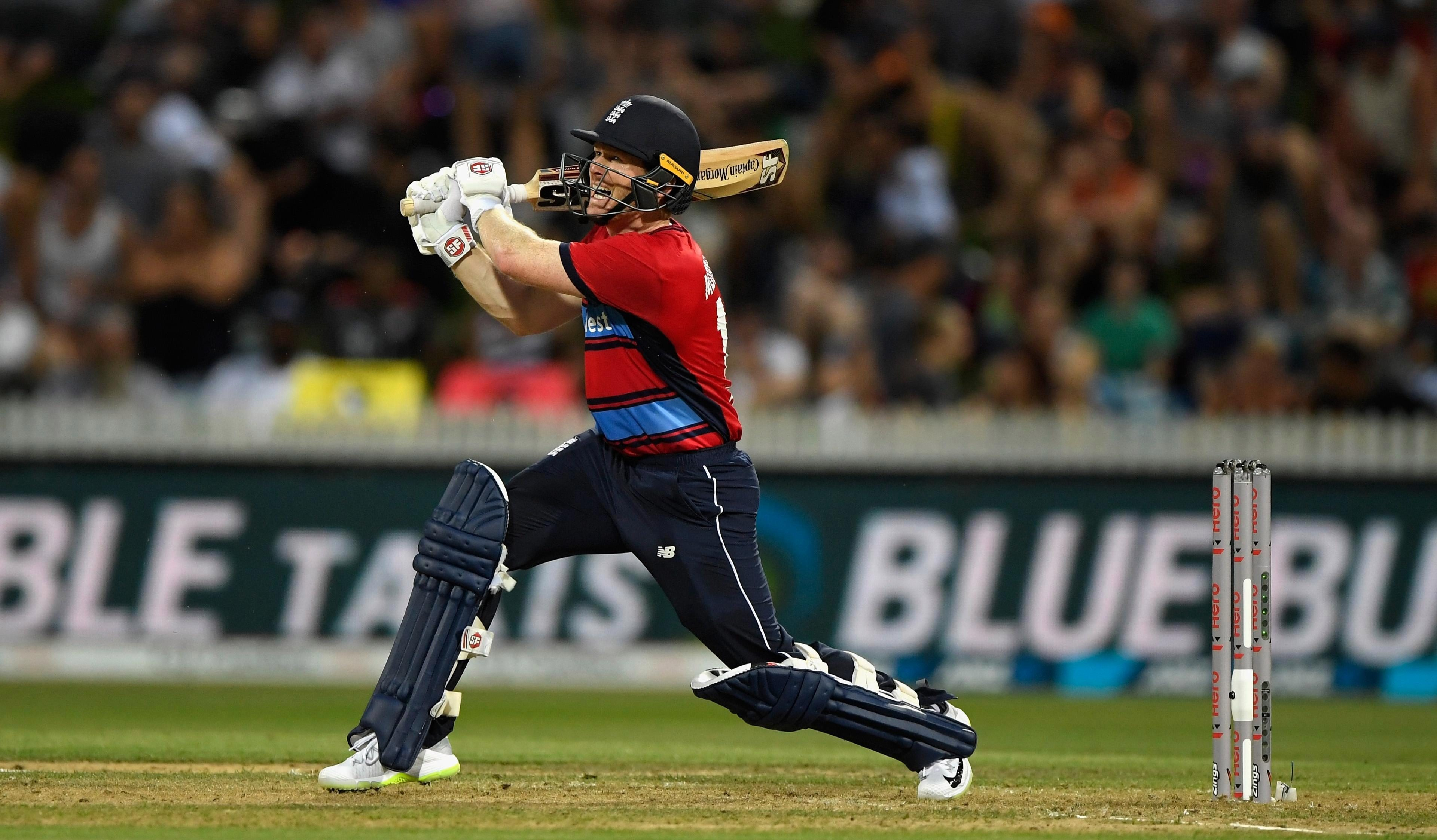 Eoin Morgan's 80 not out was not enough for England in New Zealand