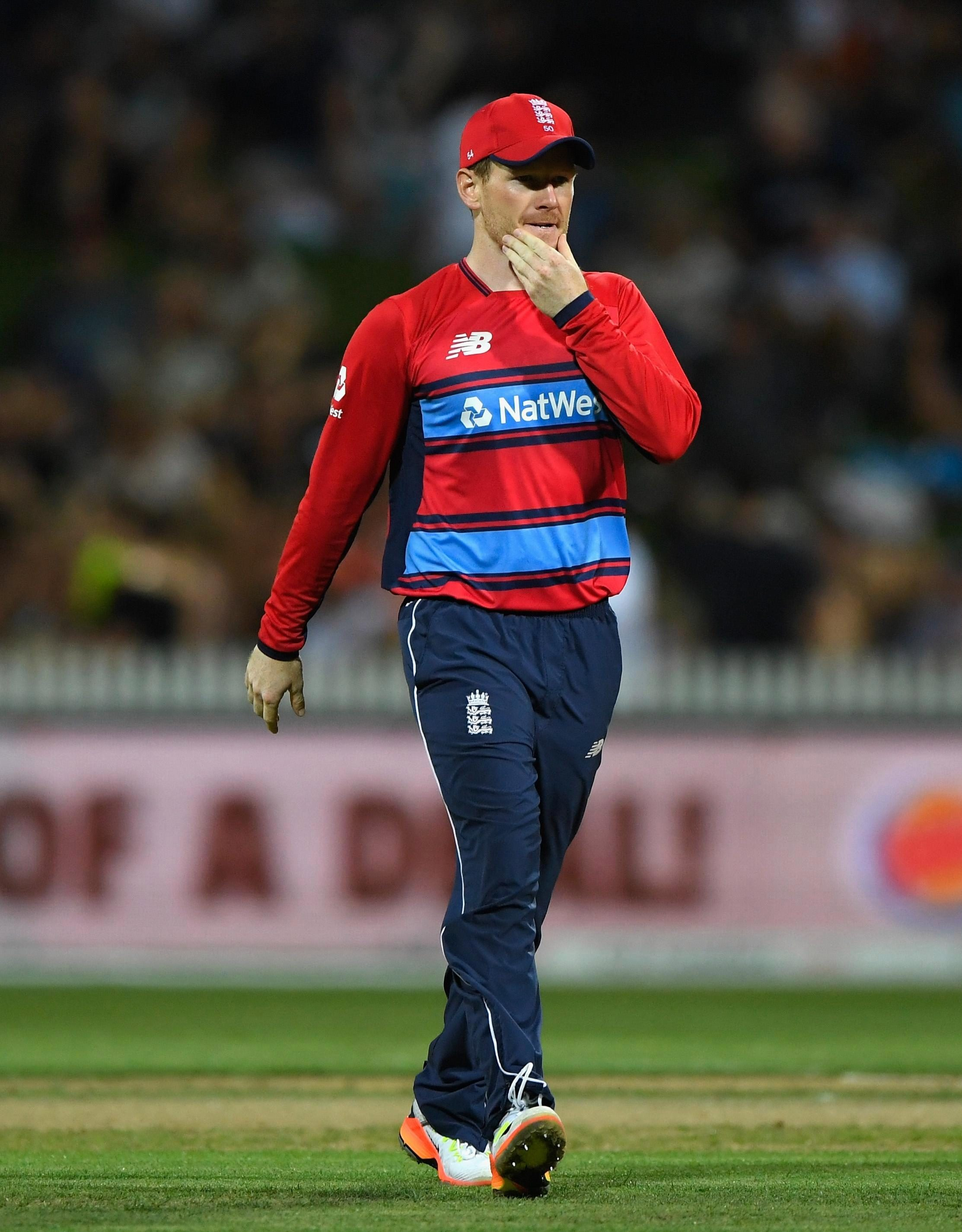 Eoin Morgan needed his bowlers to step up but New Zealand comfortably passed their mark