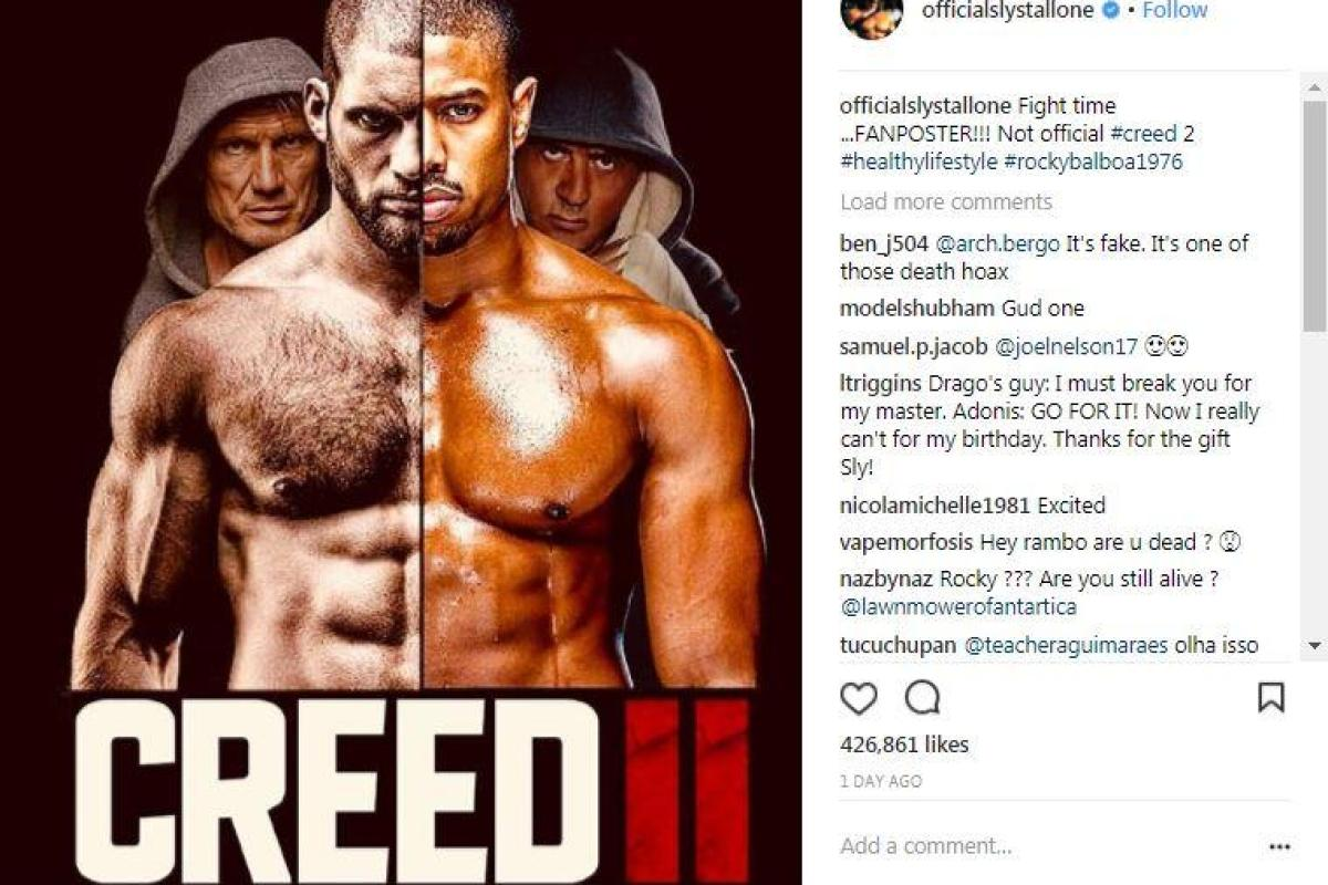 Creed Poster Stallone