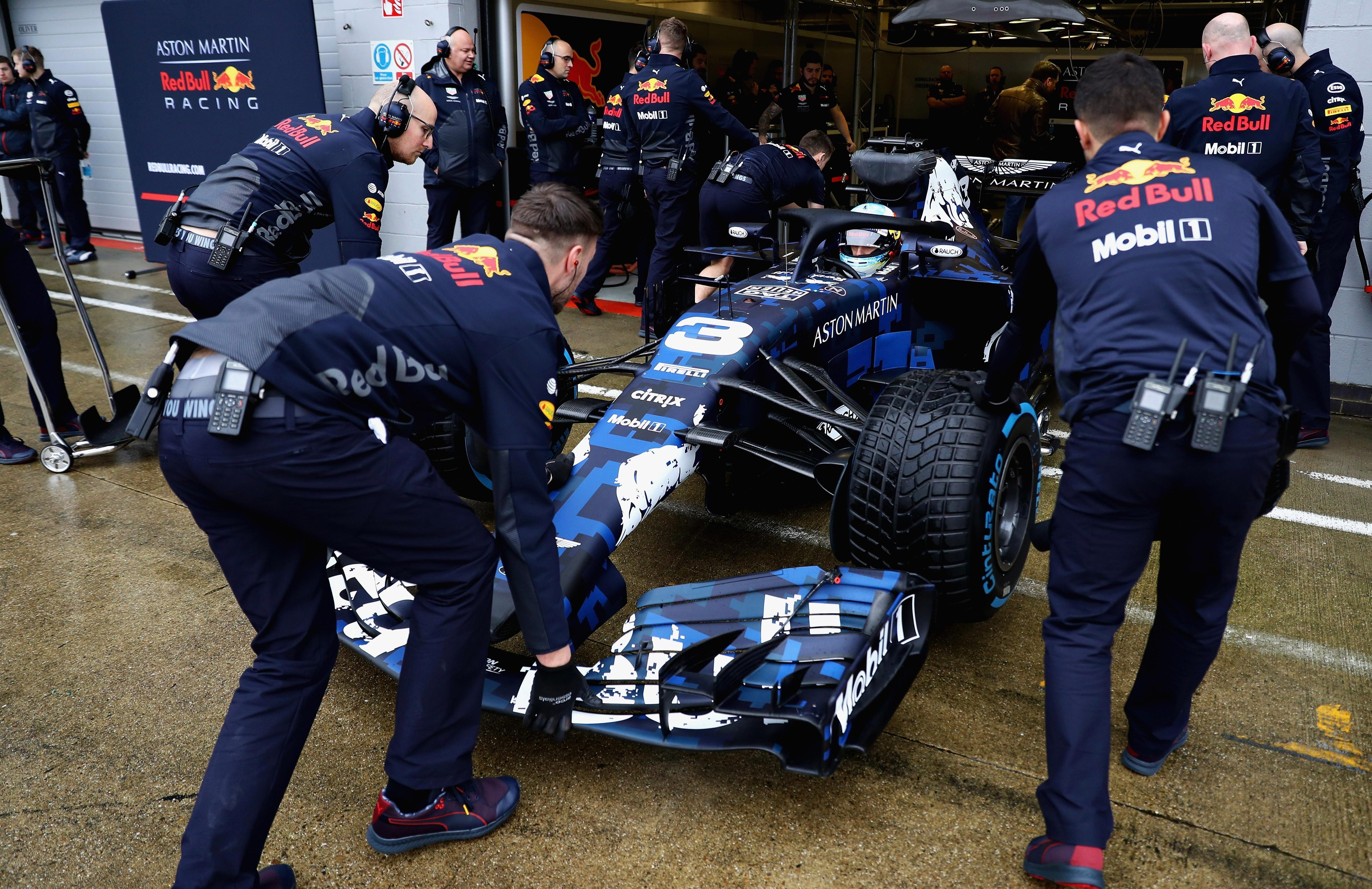 Red Bull hope the new RB14 car can help them to glory this season
