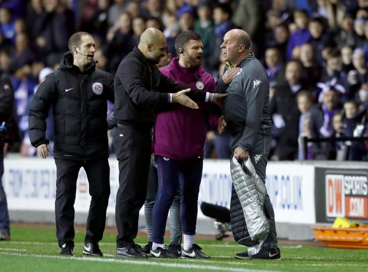 Both managers continued the verbals for some time before the referee could restore order