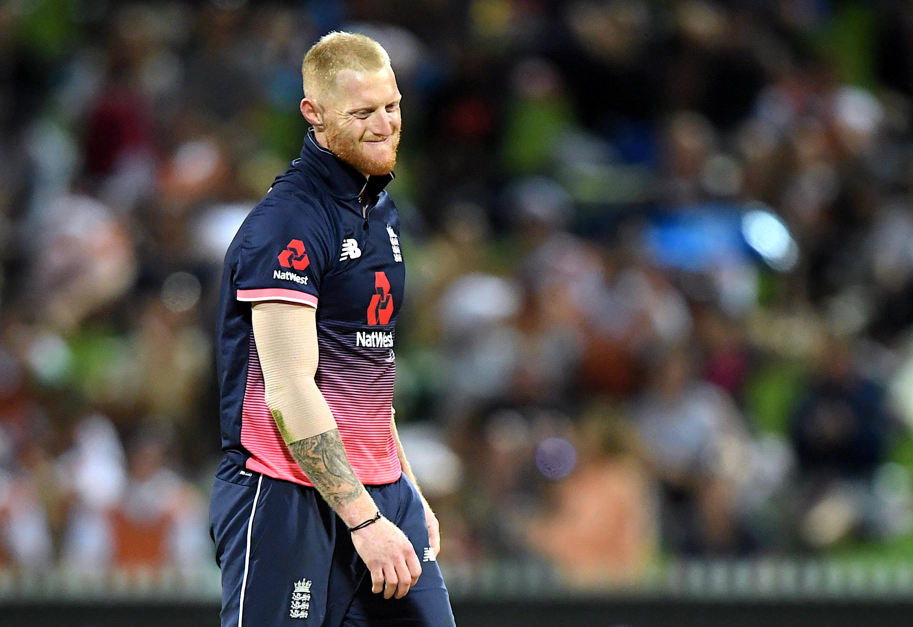 Ben Stokes made just 12 with the bat on his comeback for England but also took two wickets