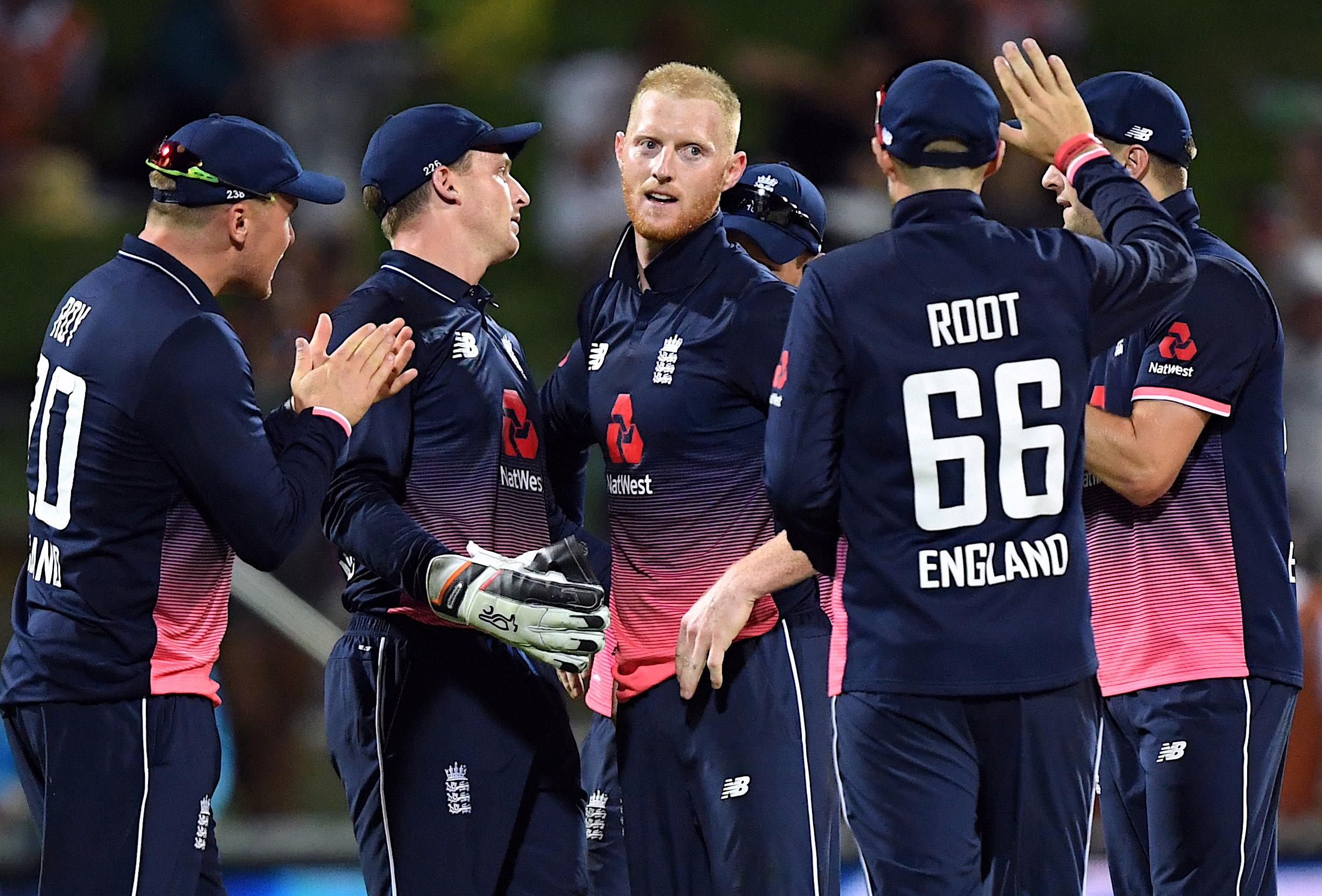 Ben Stokes took two wickets on his return to England duty