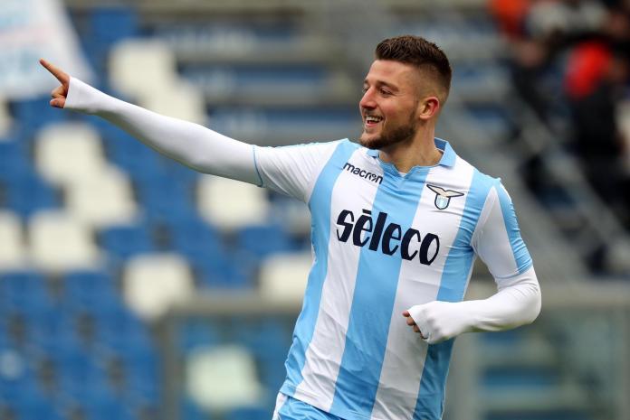 Lazio favourite Sergej Milinkovic-Savic could cost upwards of £80m