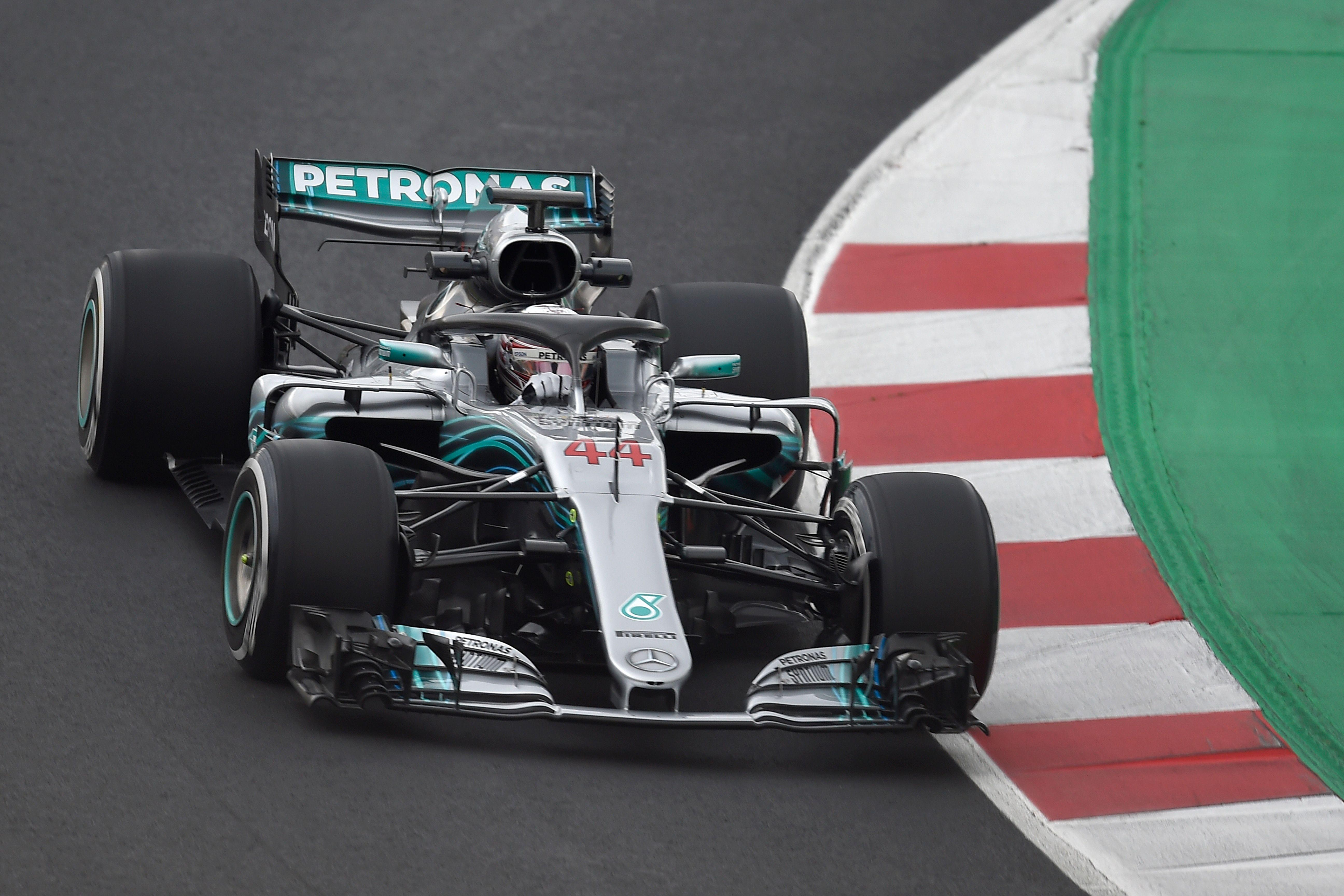 Lewis Hamilton has only mustered 25 laps over three days at the Circuit de Catalunya