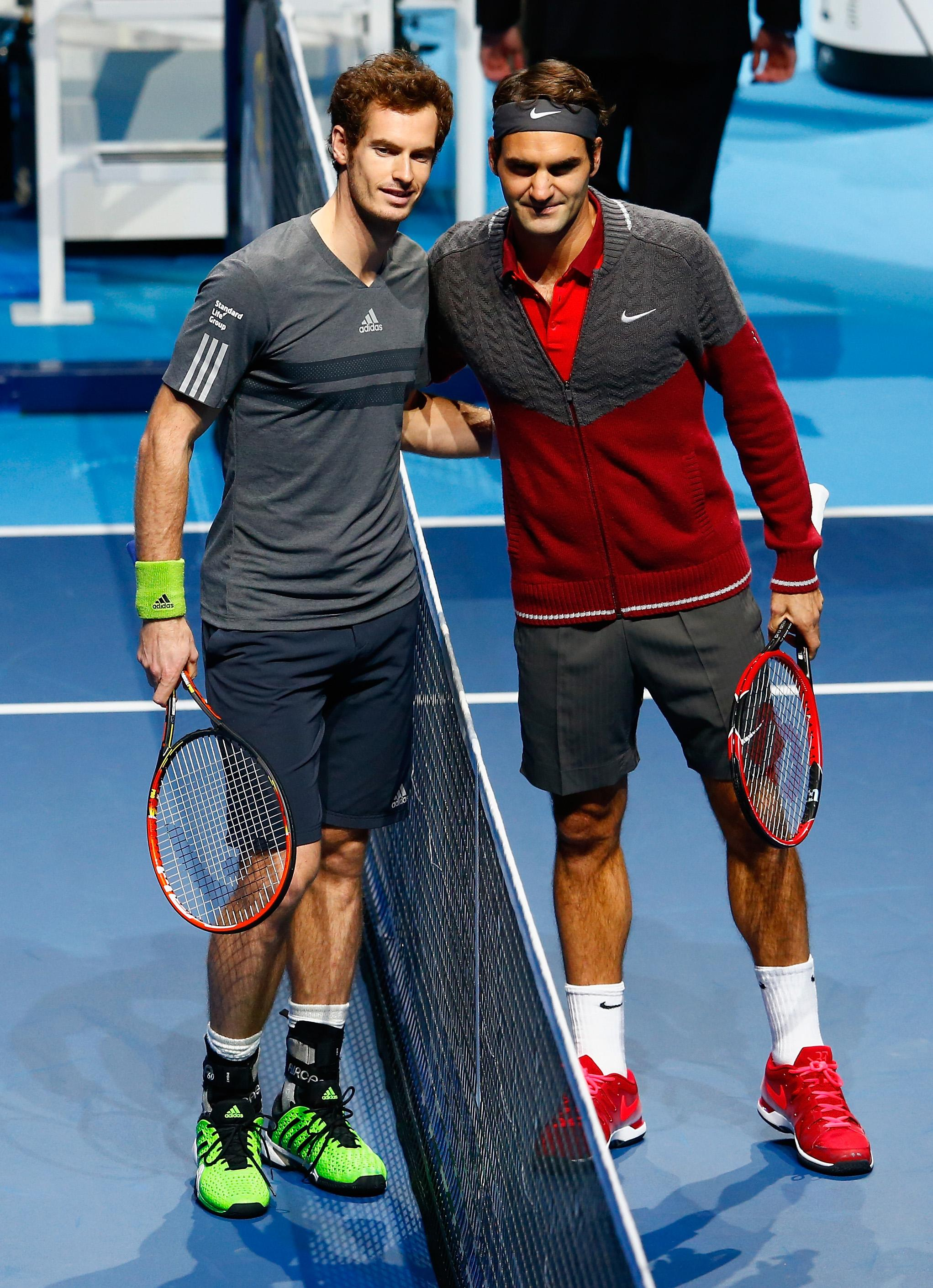 Roger Federer reckons Andy Murray must be patient as he recovers from his hip injury