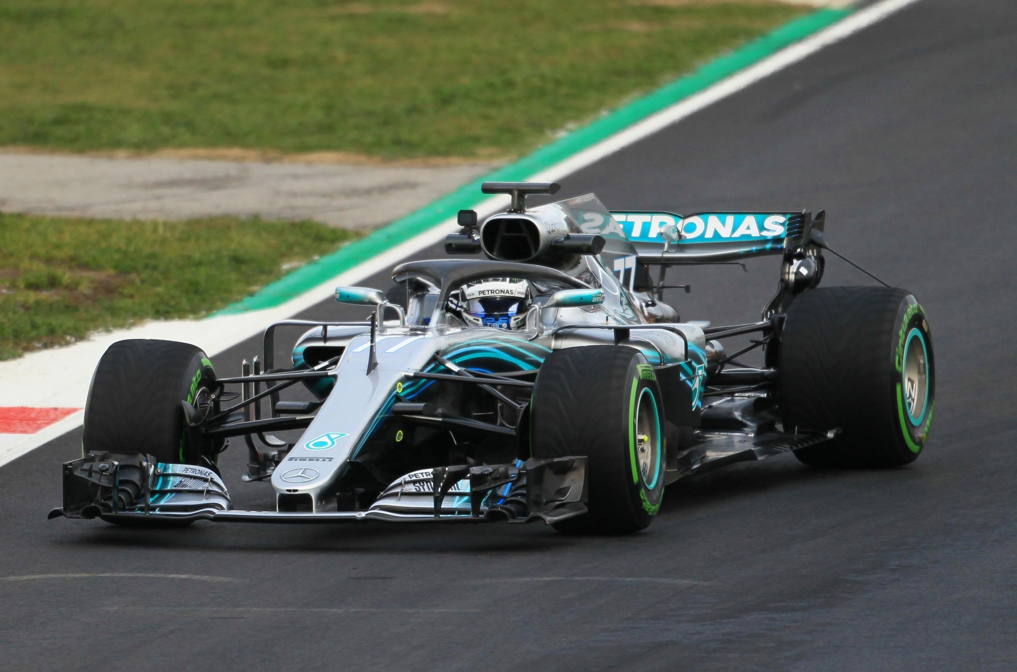 Hamilton's Mercedes partner Valtteri Bottas as racked up 152 laps in the car