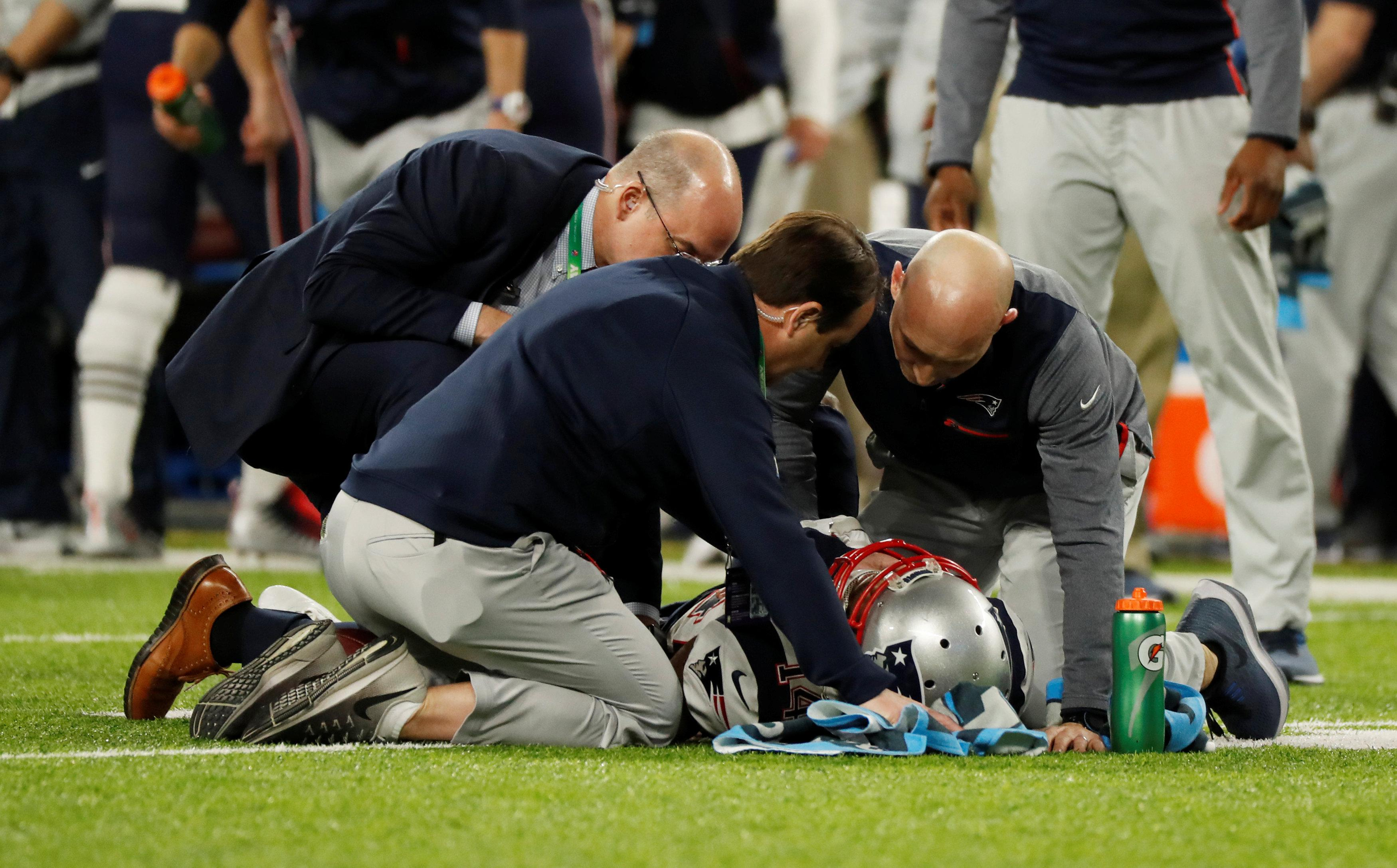 Brandin Cooks left the game with a head injury as a result of the hit and never returned