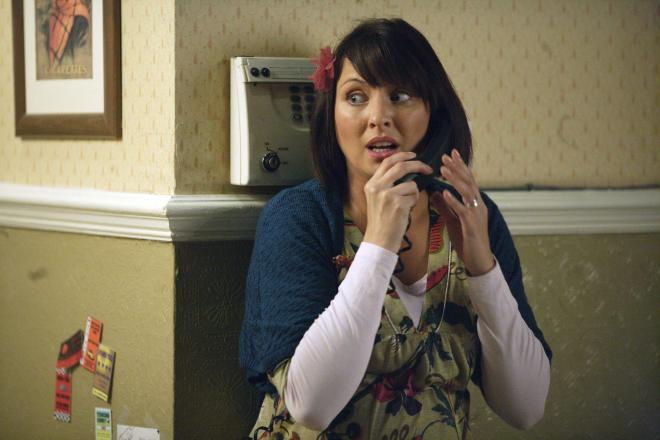 Emma Barton as Honey in EastEnders