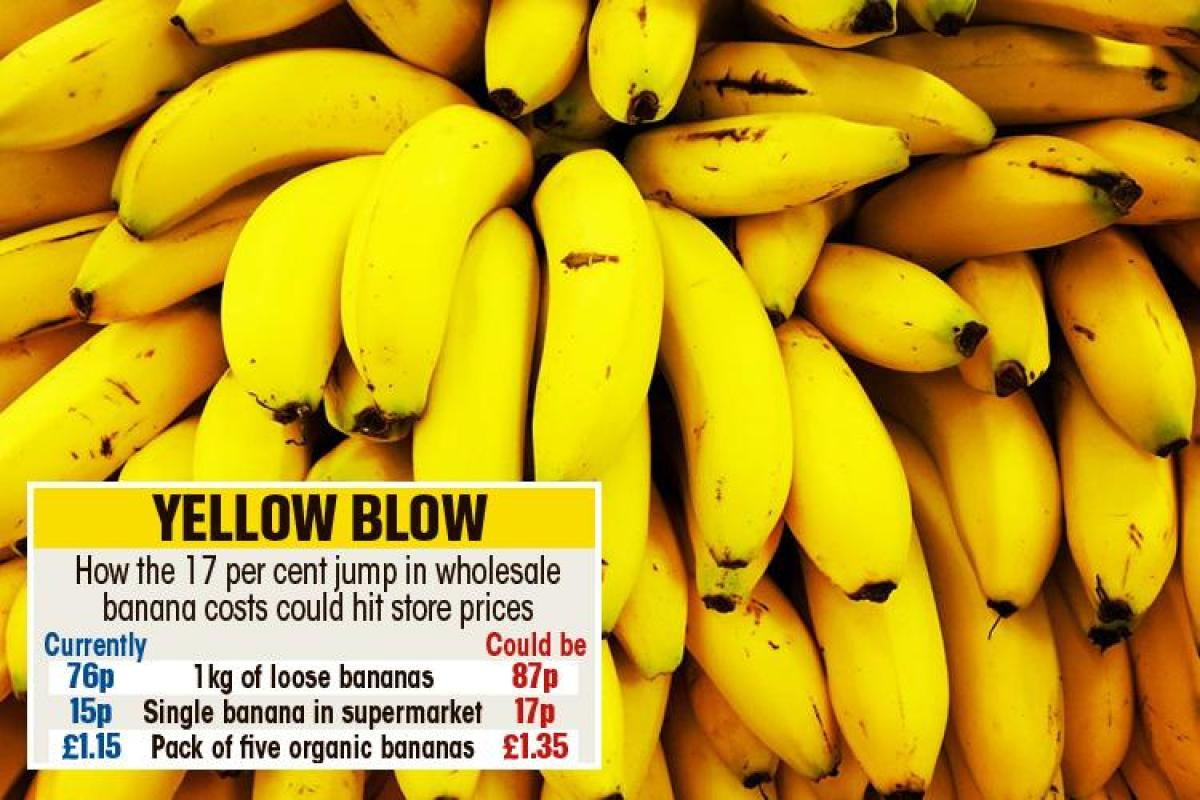 Banana Prices Could Soar By 20p After Producers Hit String Of Problems