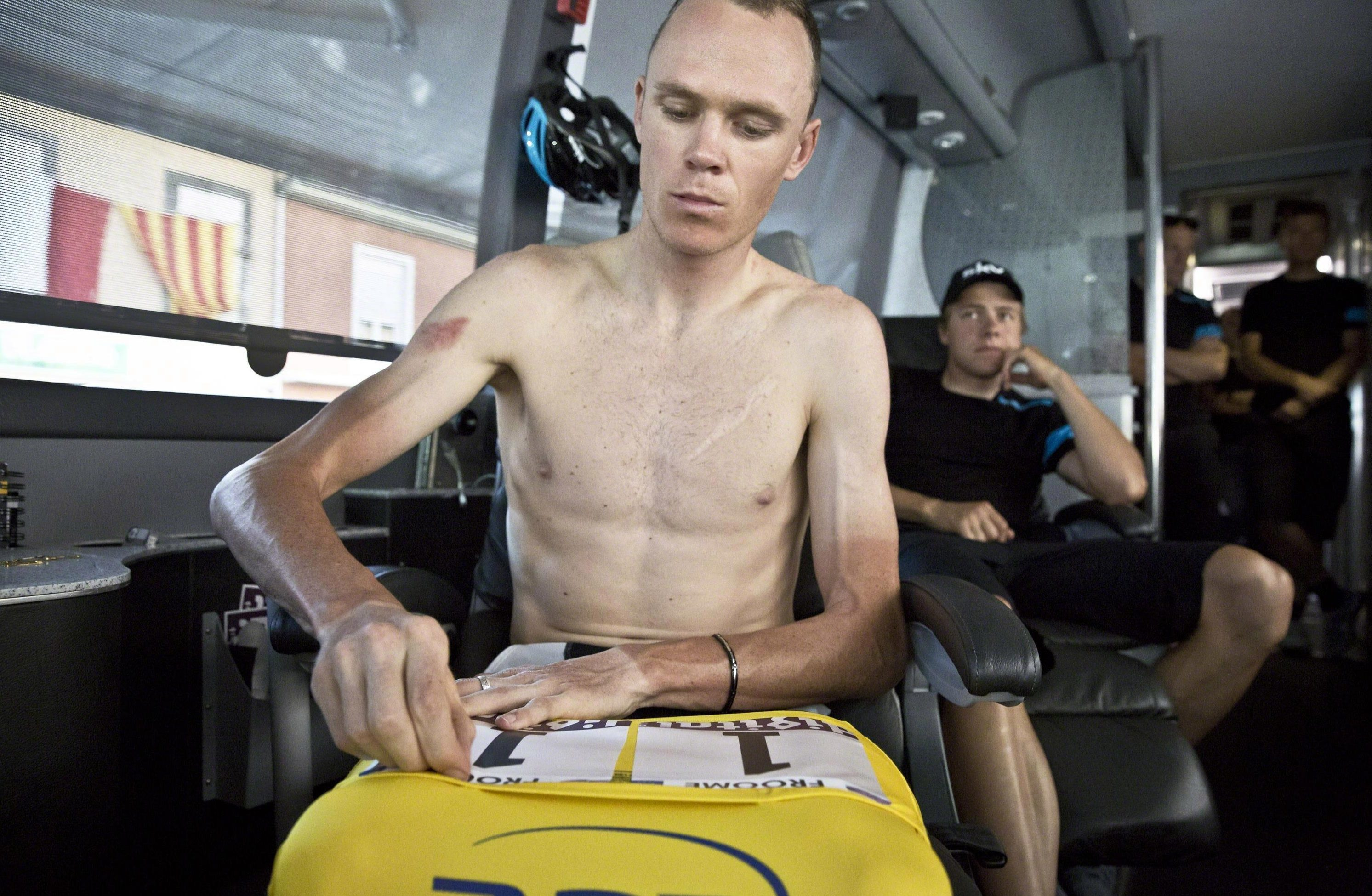 Chris Froome is now under the spotlight having returned adverse findings for salbutamol