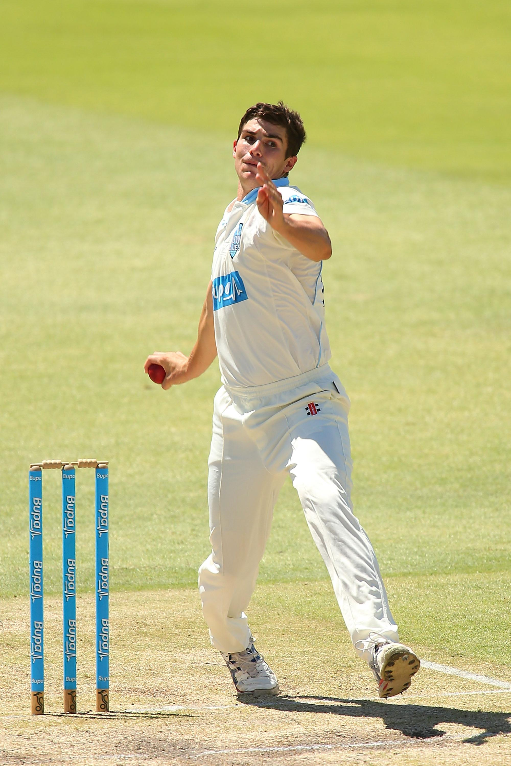 Sean Abbott bowled the delivery that led to Phillip Hughes' death in 2014
