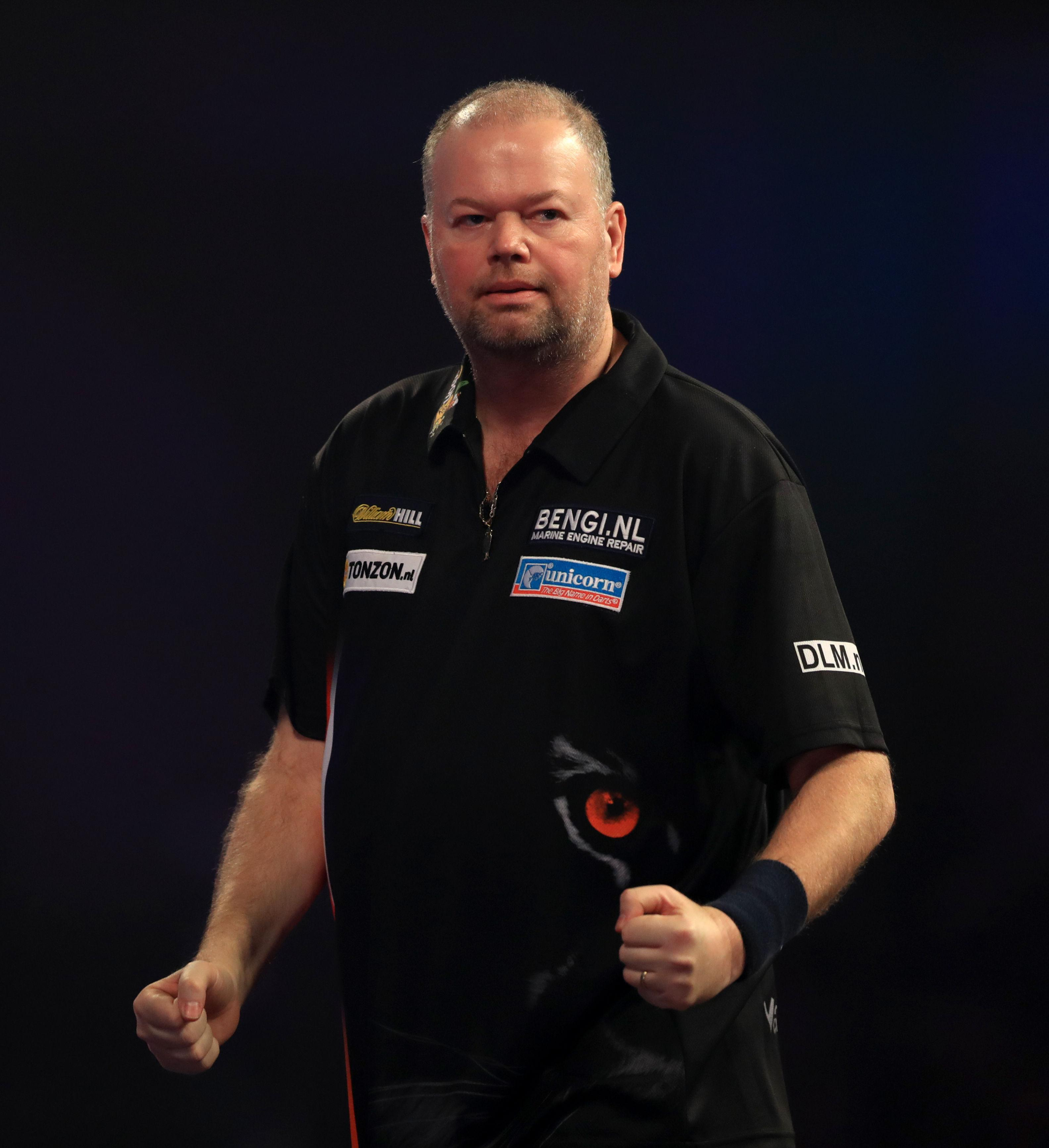 Raymond van Barneveld hailed the decision to put the fans' safety first