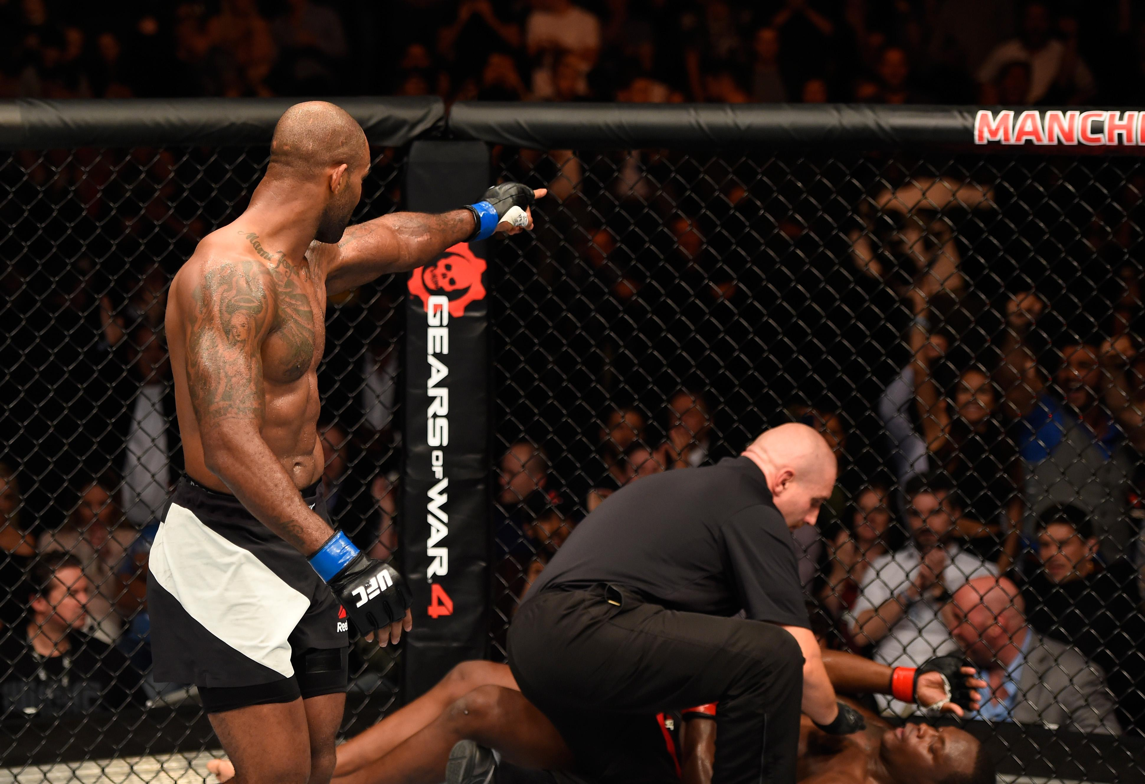 The last London show went superbly for Manuwa who won via stunning KO