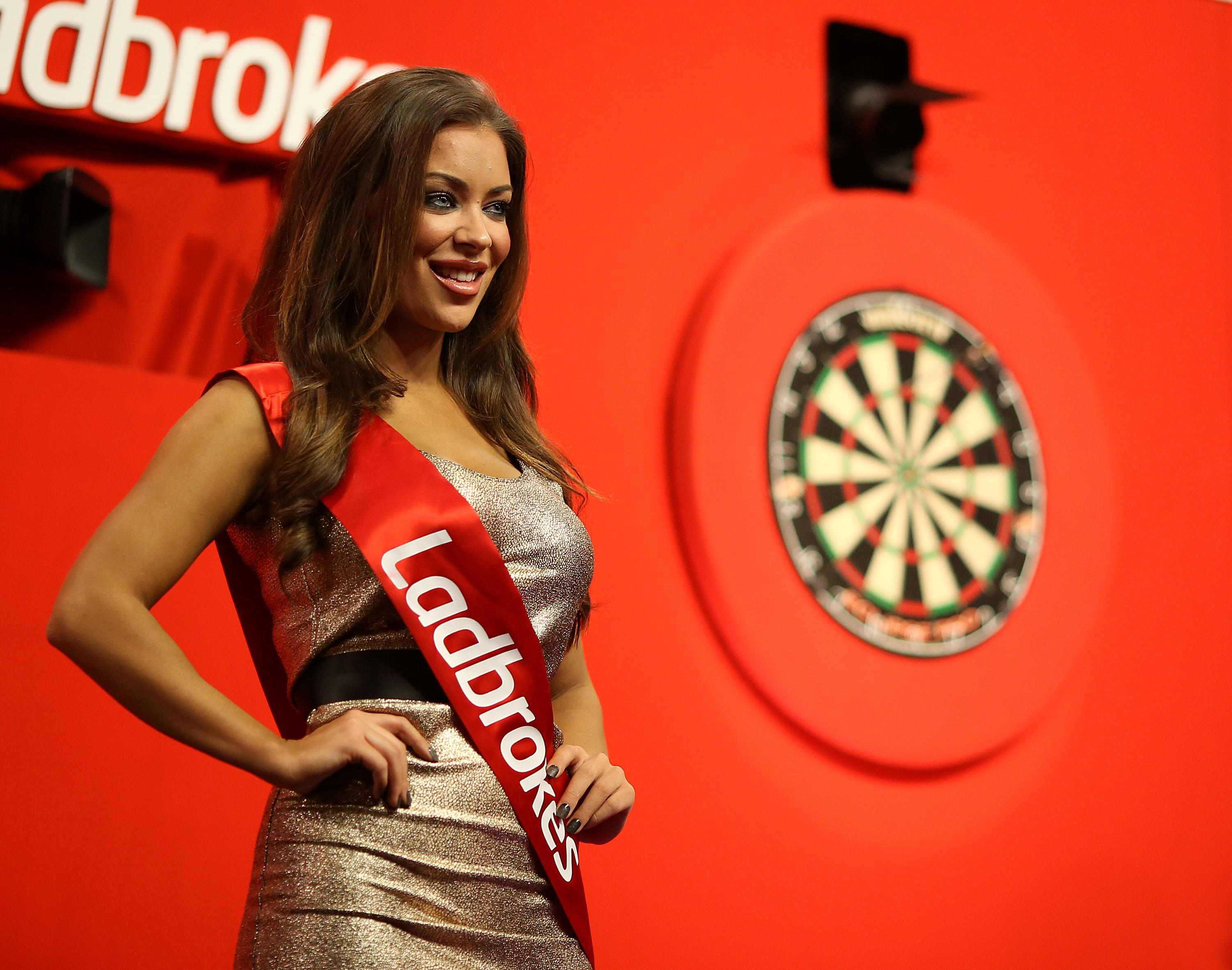 Darts was the first to ditch the use of podium girls