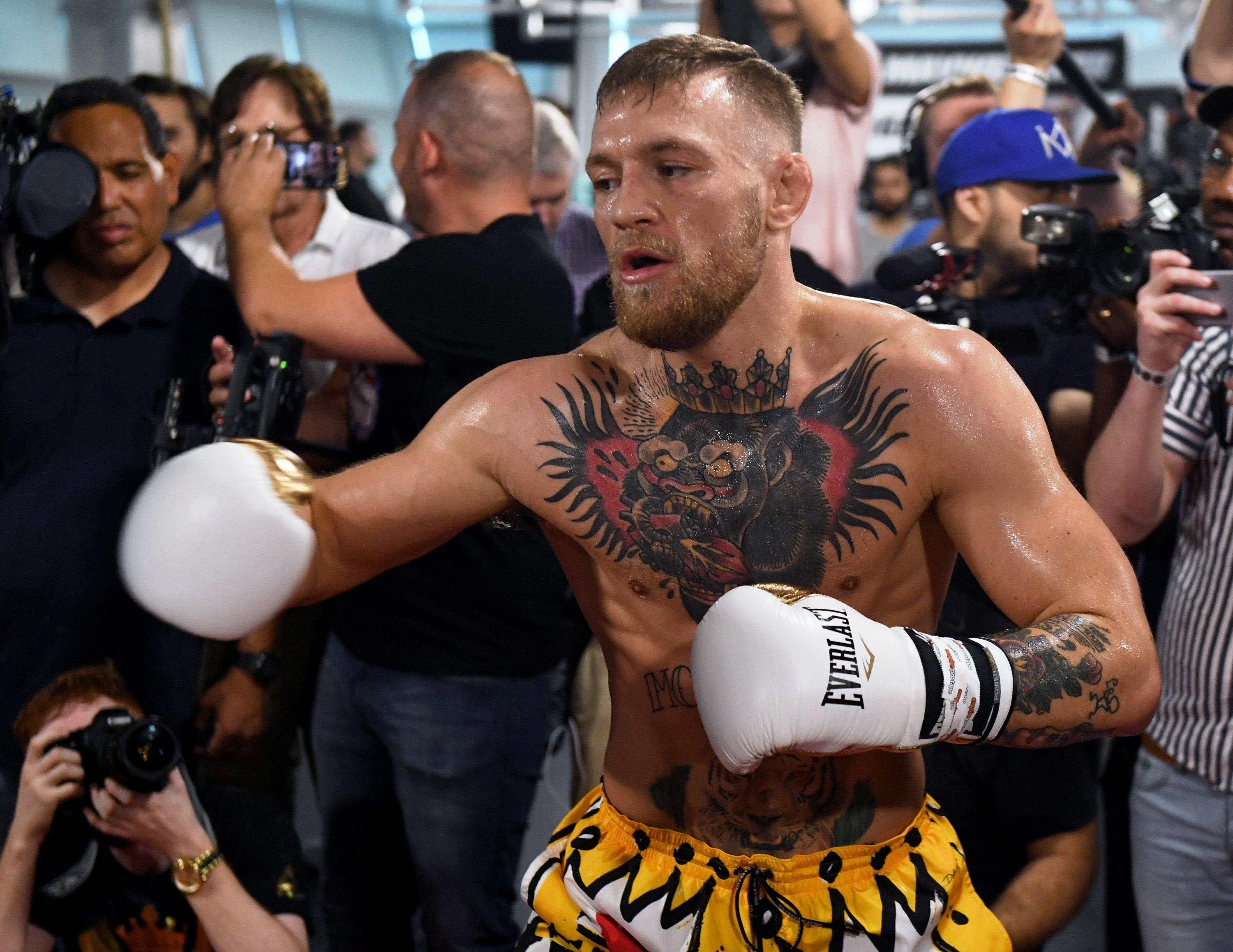 Conor McGregor stepped straight out of MMA and into boxing's biggest bout