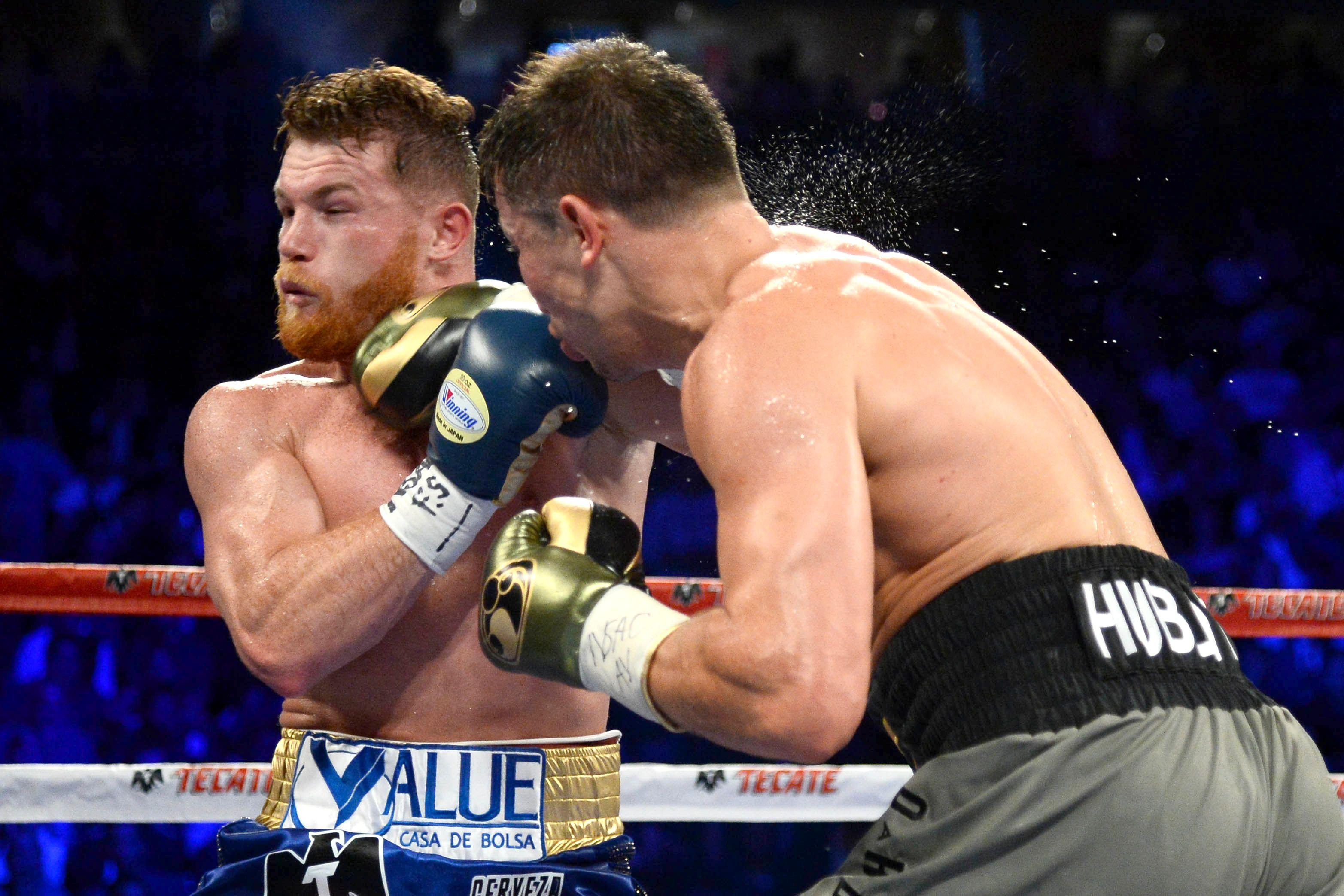 Gennady Golovkin and Saul Alvarez are fighting it out for pound-for-pound honours