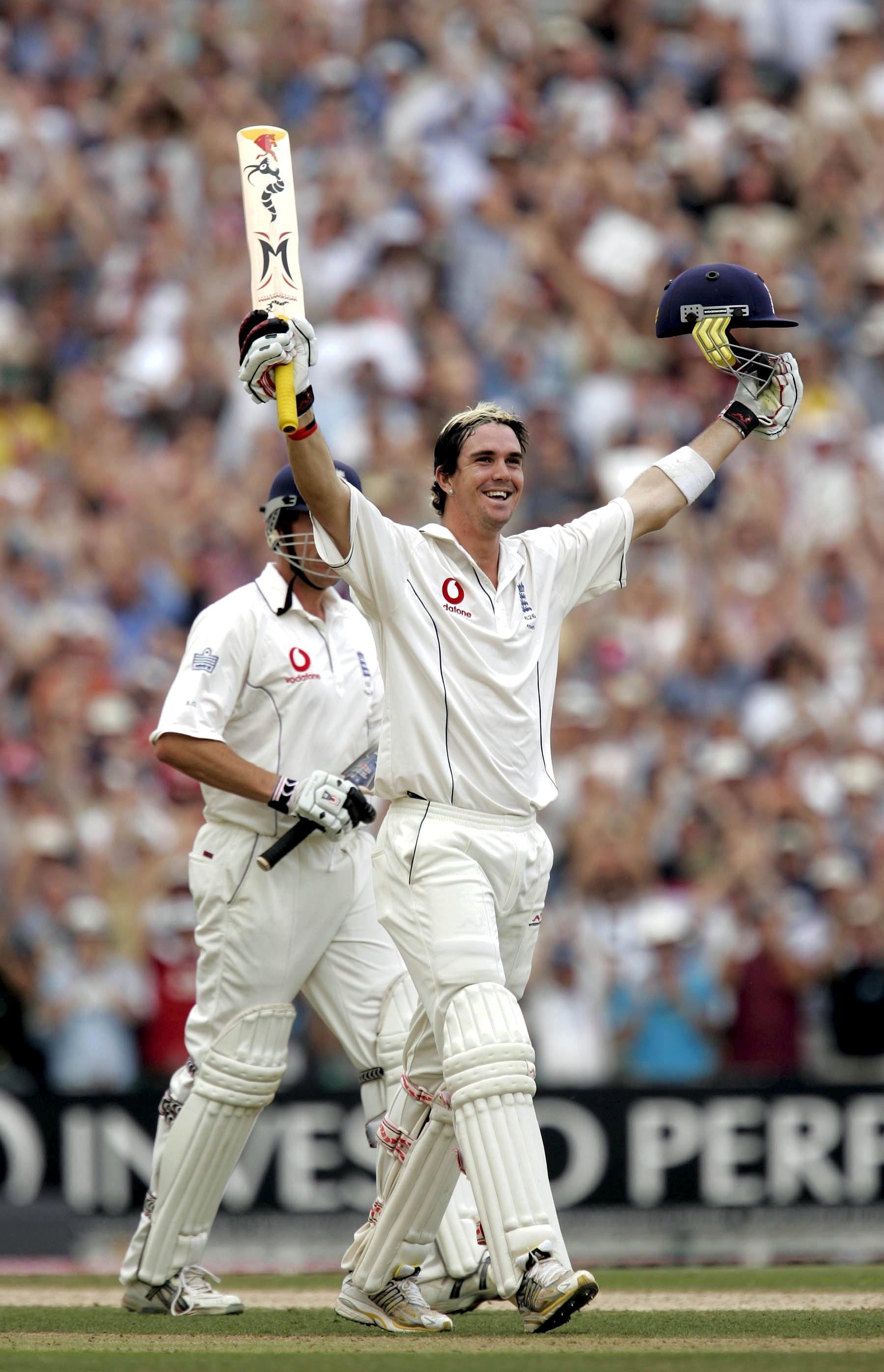 Kevin Pietersen helped England famously win the Ashes in 2005