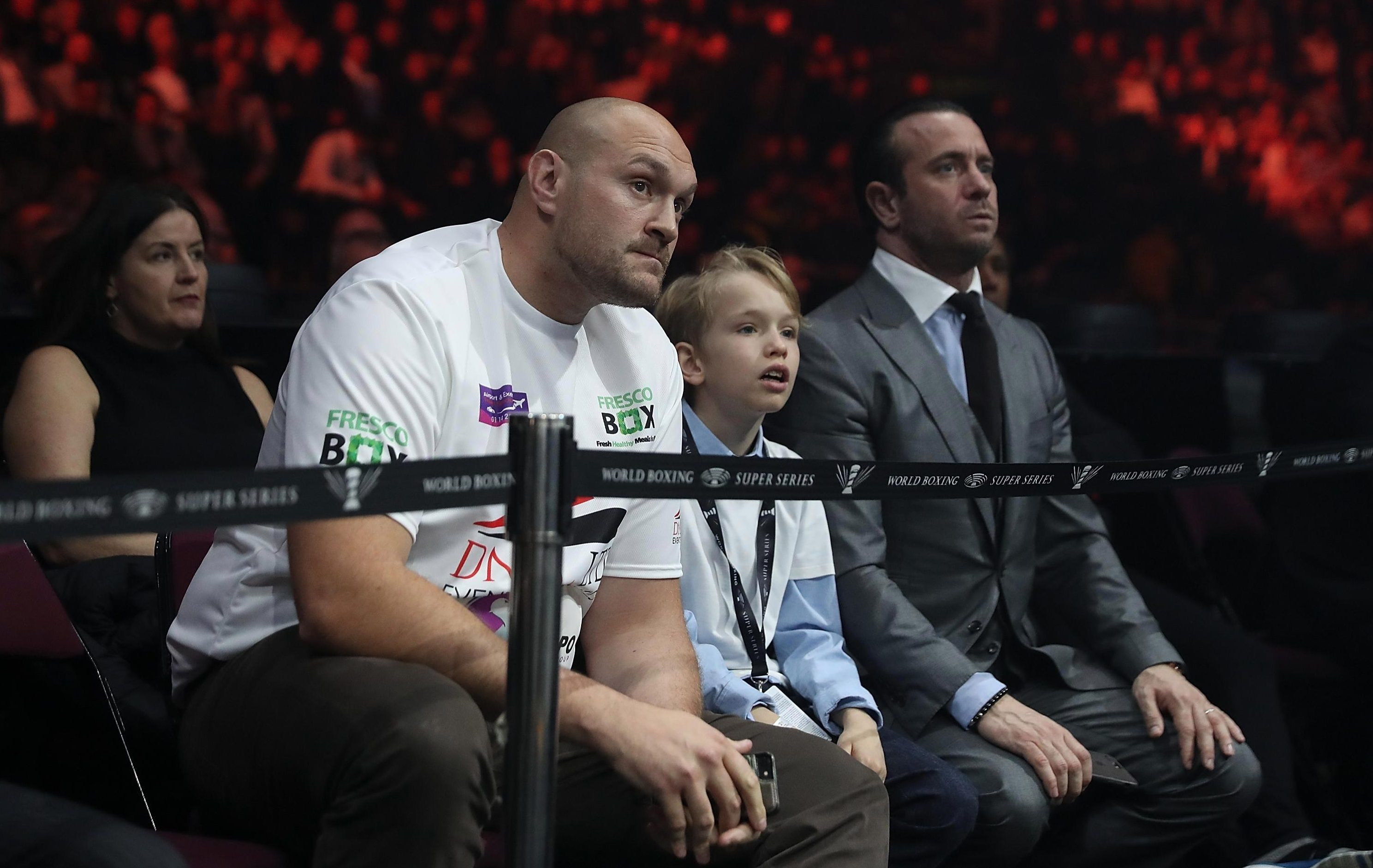 Tyson Fury is desperate to get back in the ring for the first time since November 2015