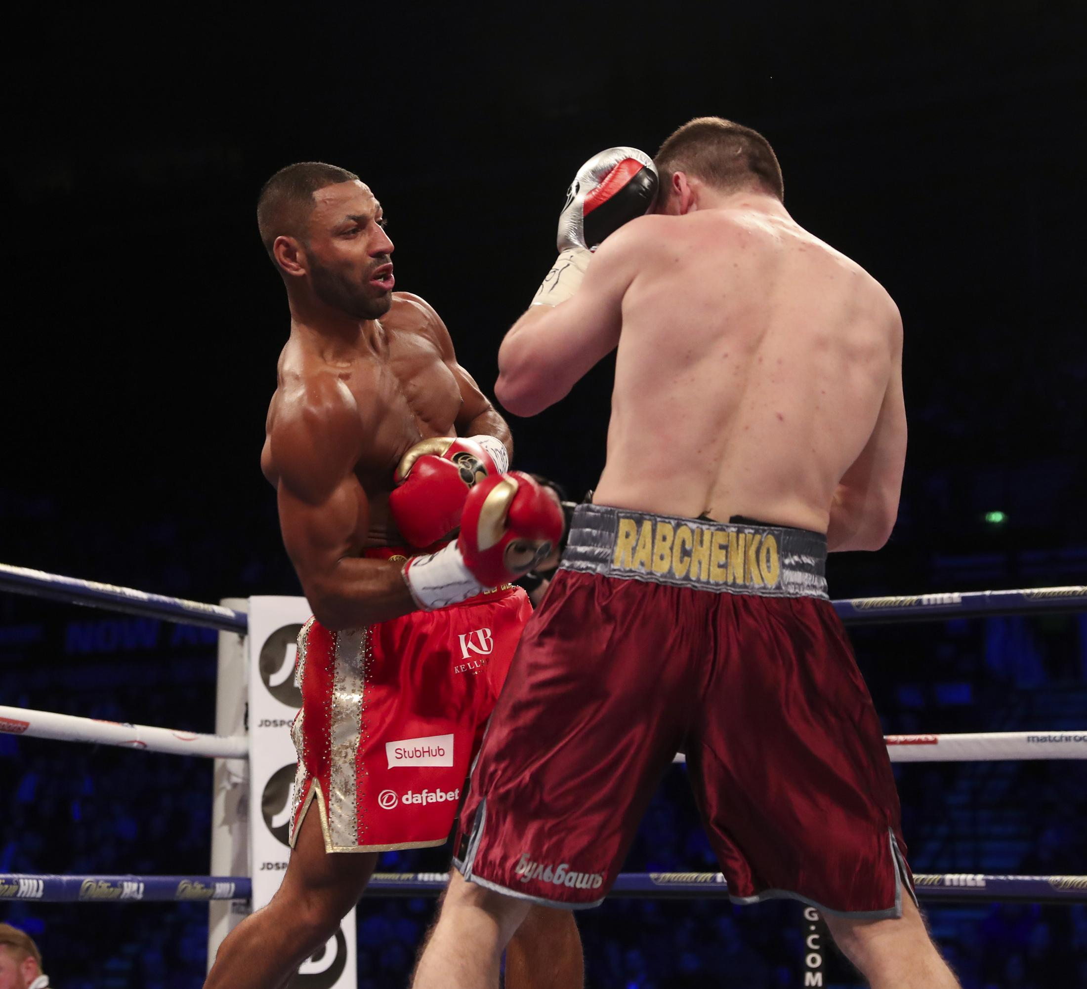 Kell Brook ended Sergey Rabchenko's night very early in March