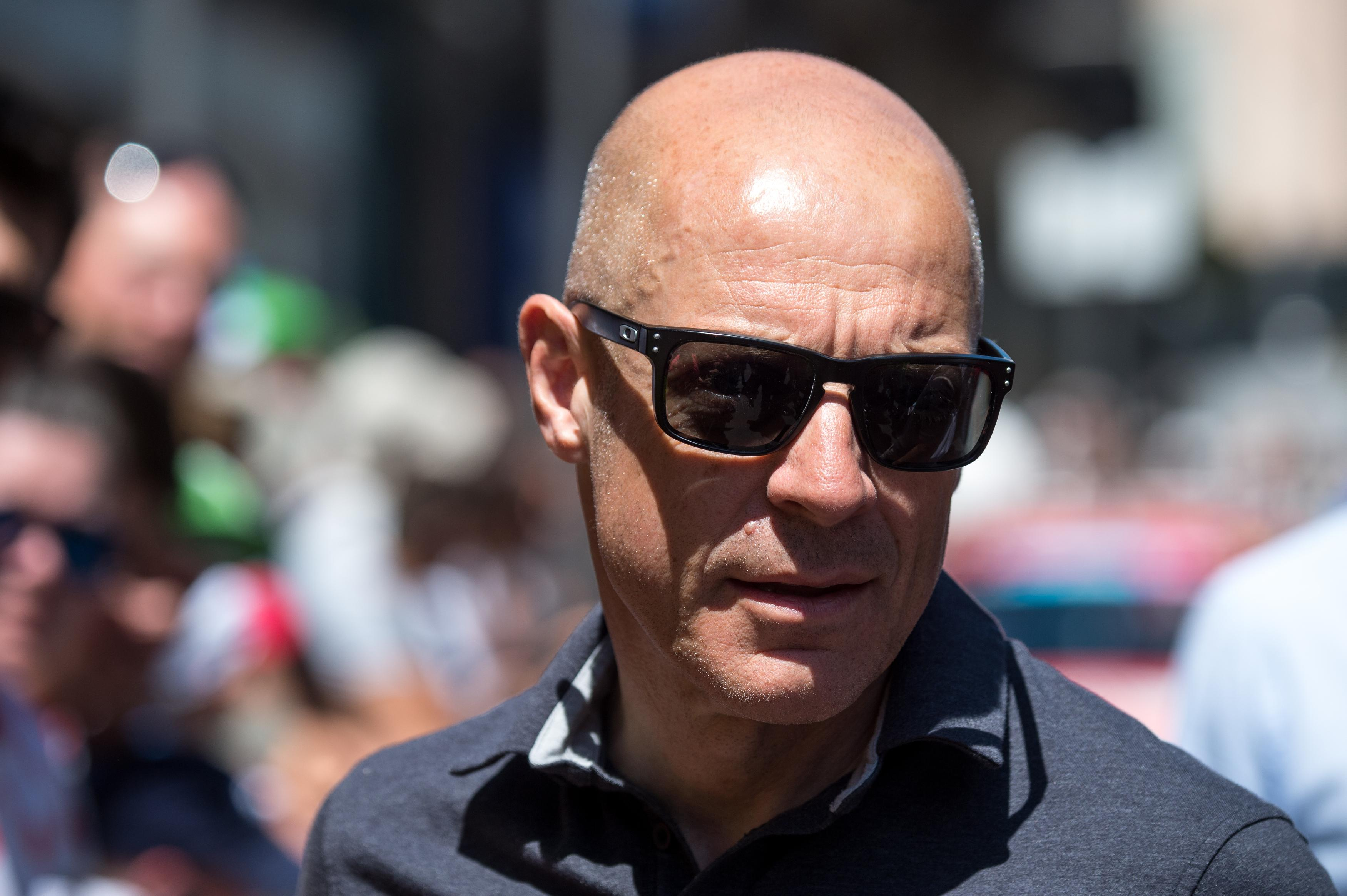 Sir Dave Brailsford is at the centre of the doping scandal