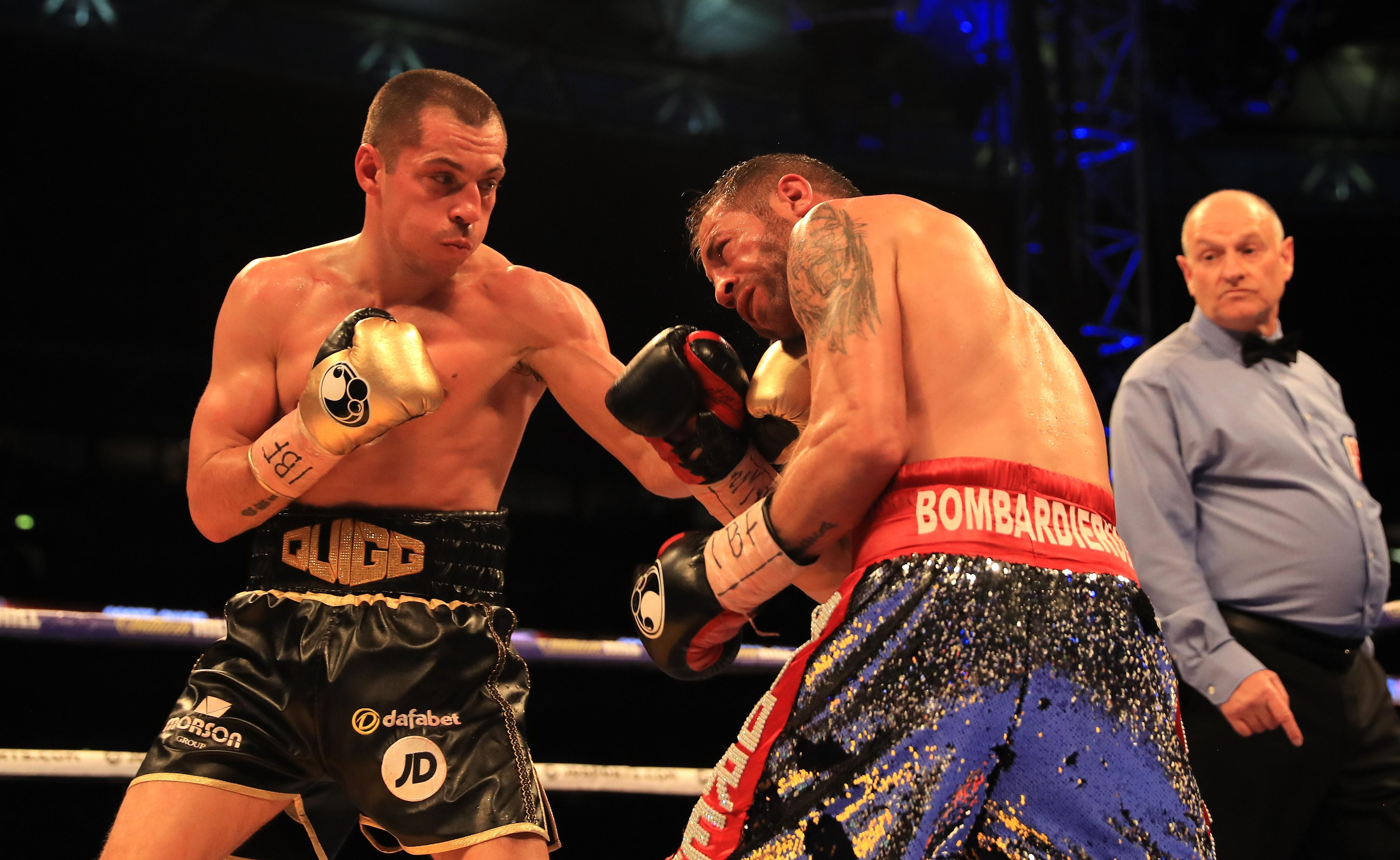 British puncher Scott Quigg came in 2.8lbs over the weight limit
