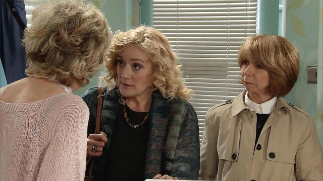 Sophie plays Rosemary Piper on Corrie