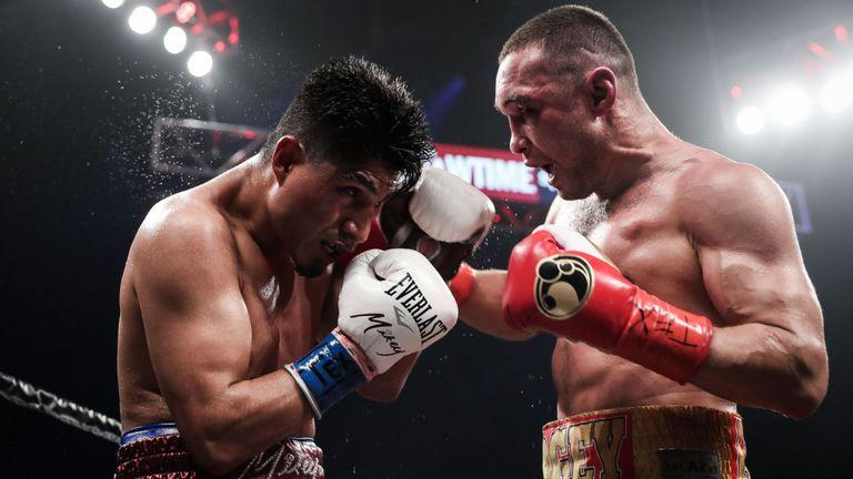 Garcia dominated over 12 rounds to win theIBF super-lightweight title