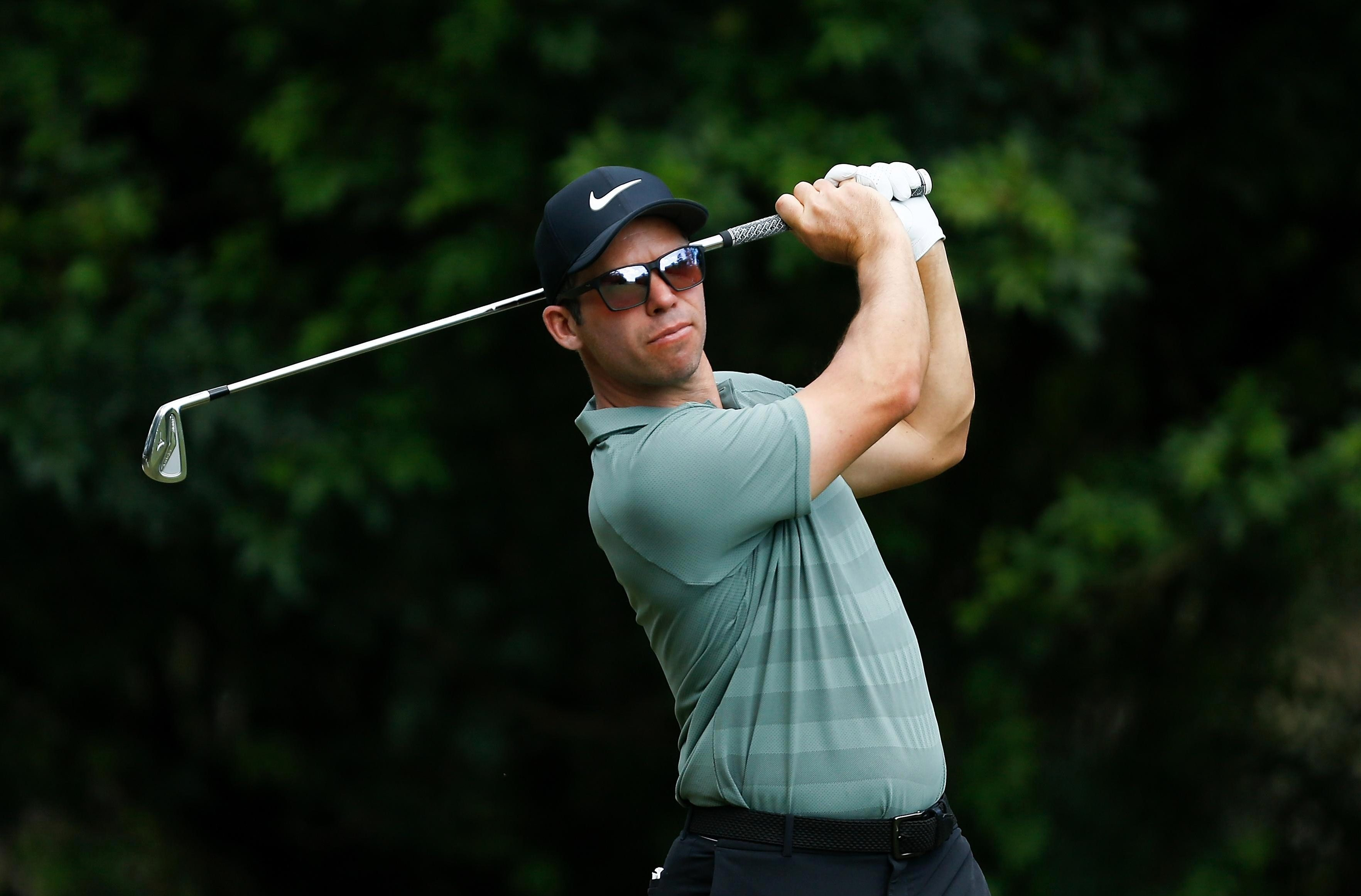 Paul Casey won the title after an anxious wait in the clubhouse