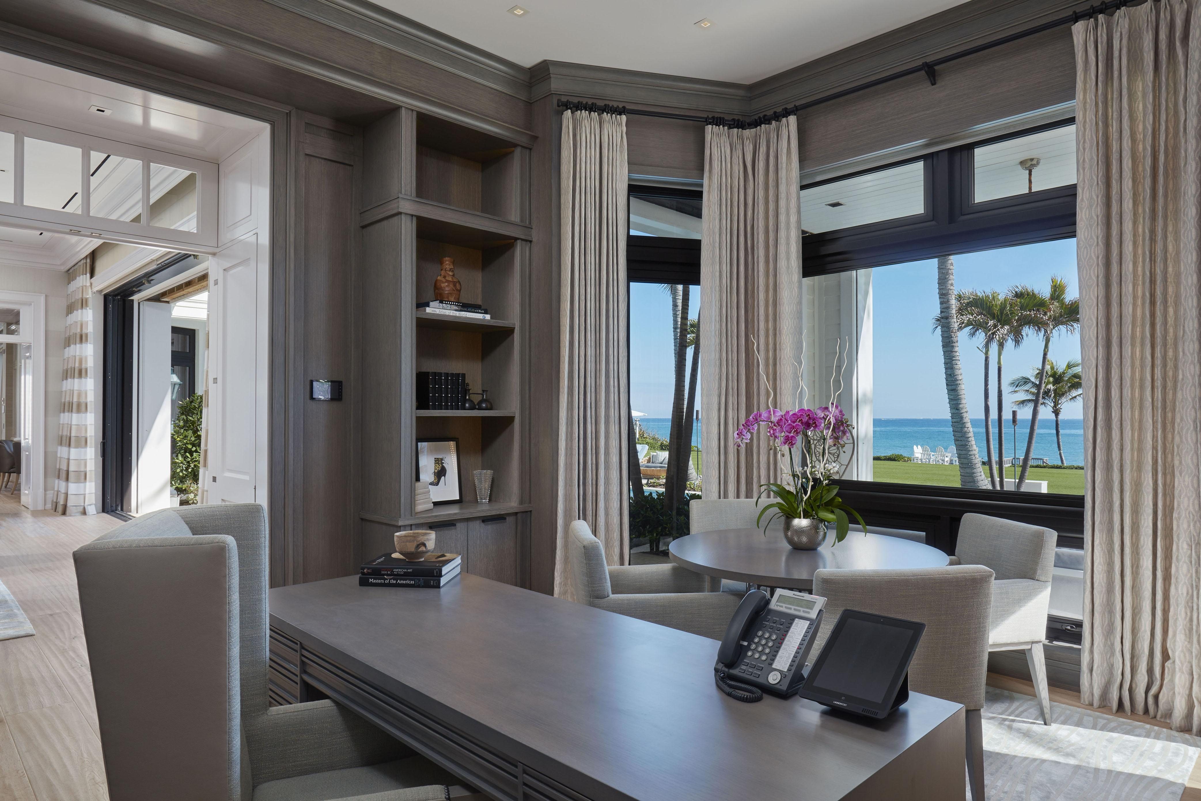 Elin Nordegren's mansion is hugely spacious and gives the owner an amazing view of the water