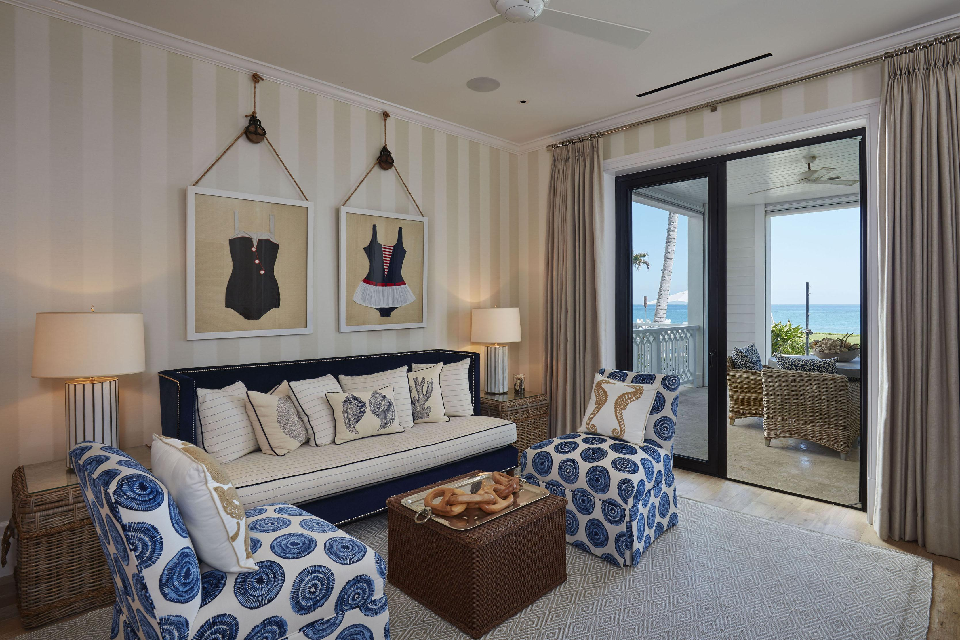 Each room invites you to relax with stunning views of the ocean