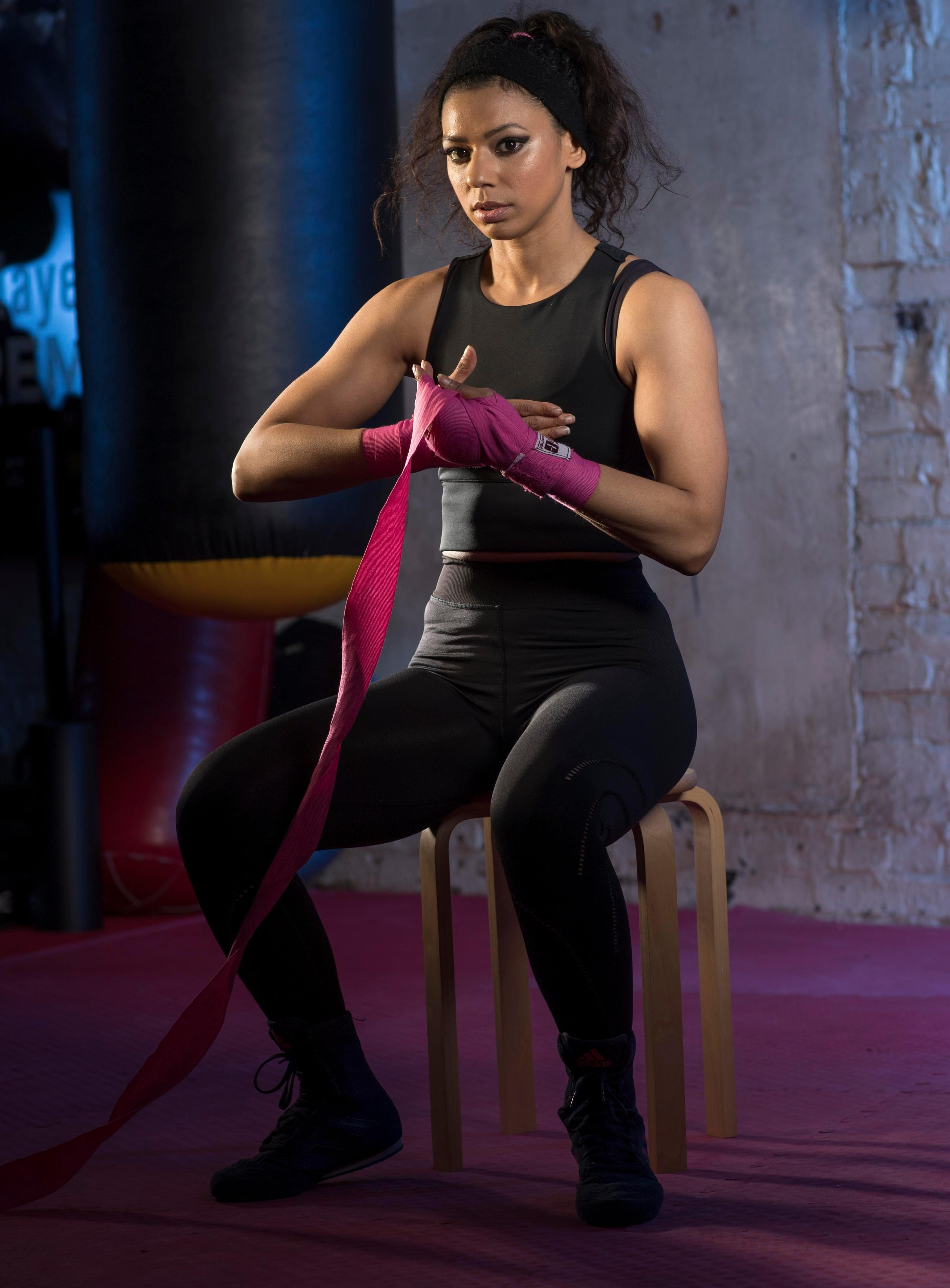 Ruqsana Begum became a world champ at kickboxing and has now switched to orthodox boxing