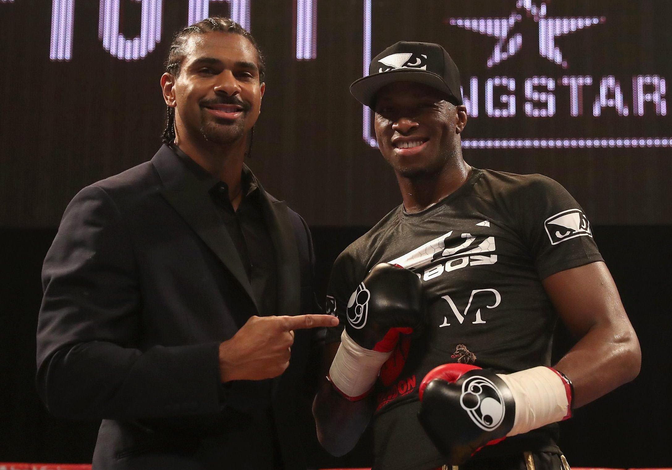 David Haye snapped up the unorthodox striker for his Hayemaker promotional stable