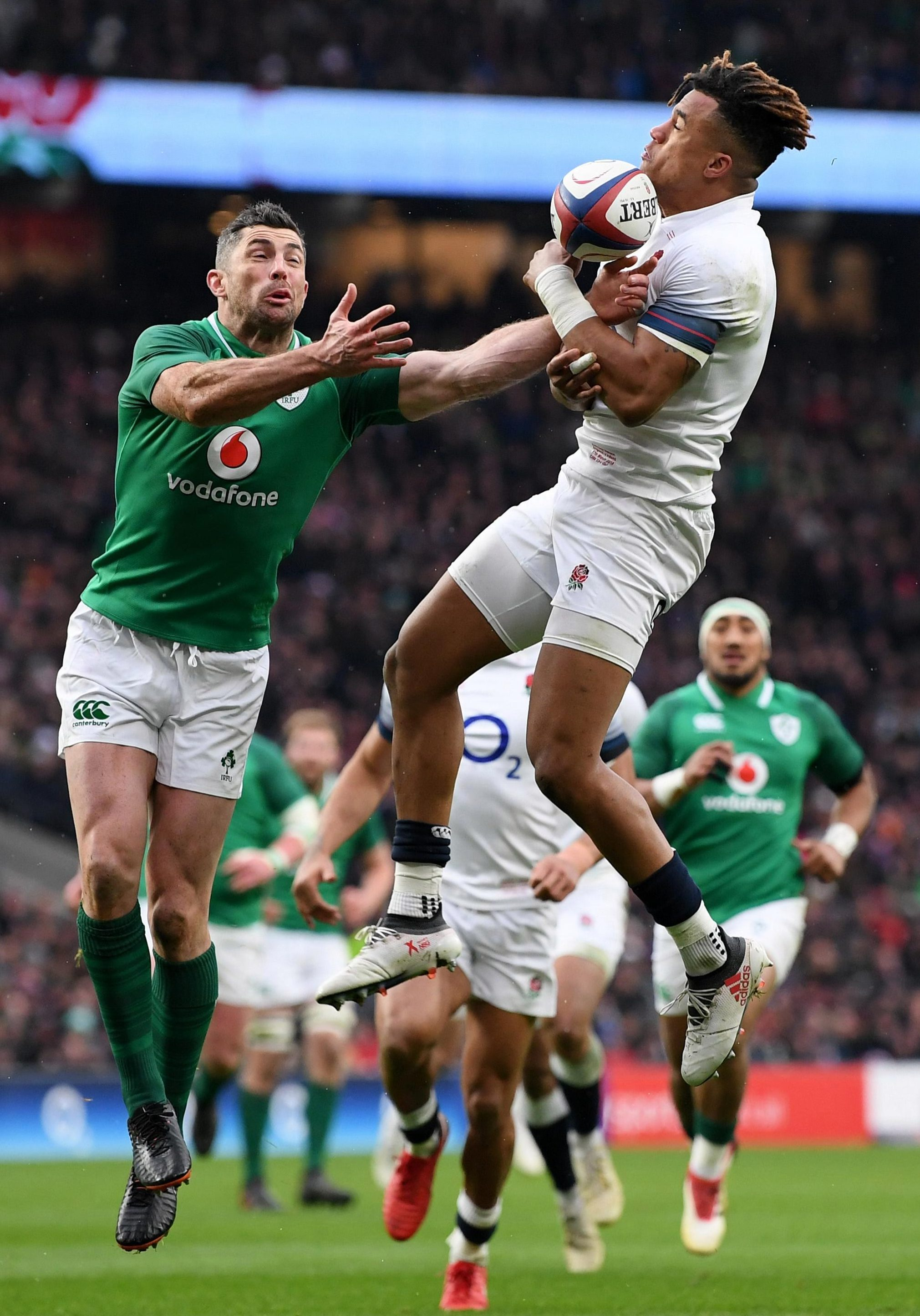Anthony Watson first injured his Achilles against Ireland back in March