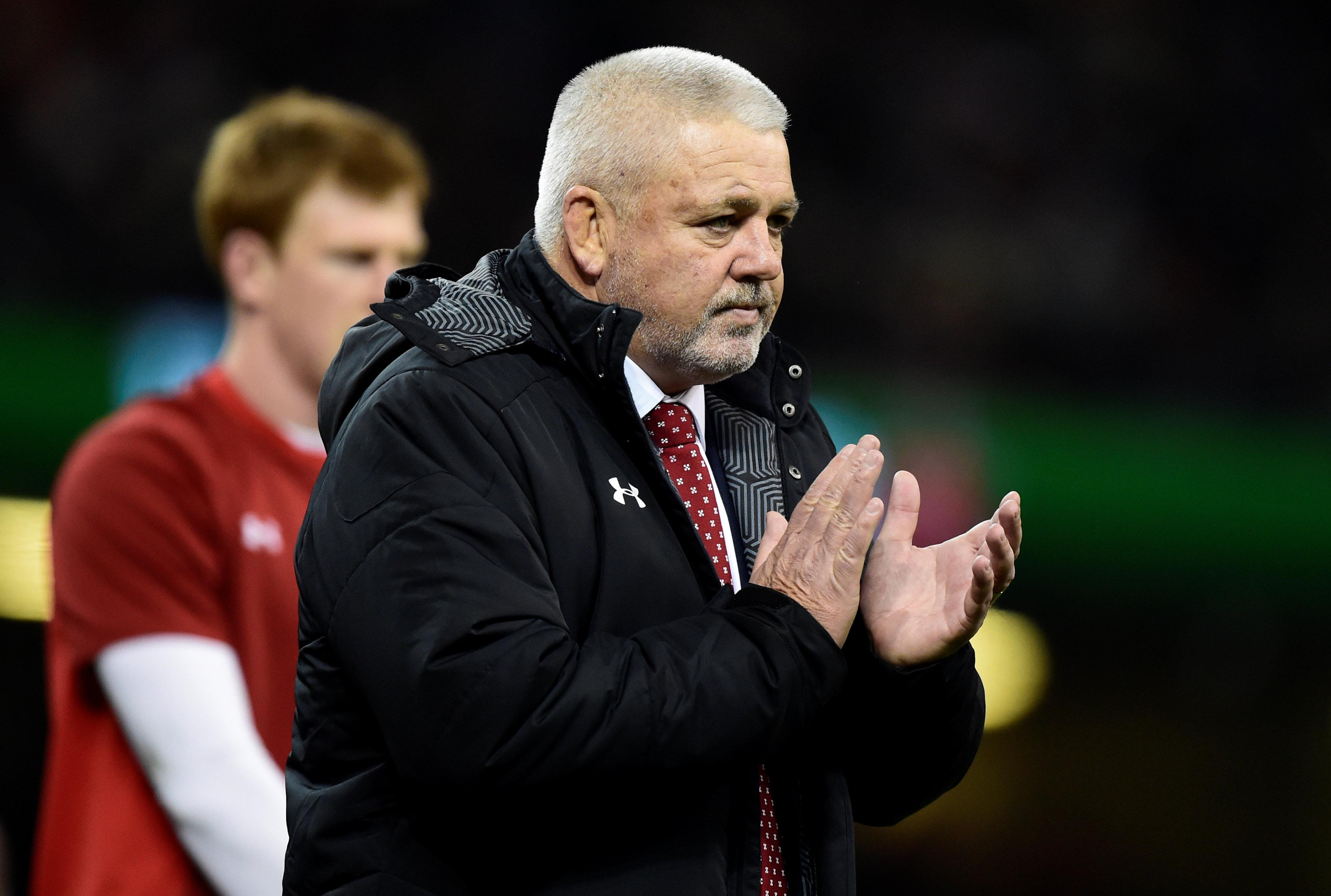 "Warren Gatland backed North publicly, saying ""we will look after him"""