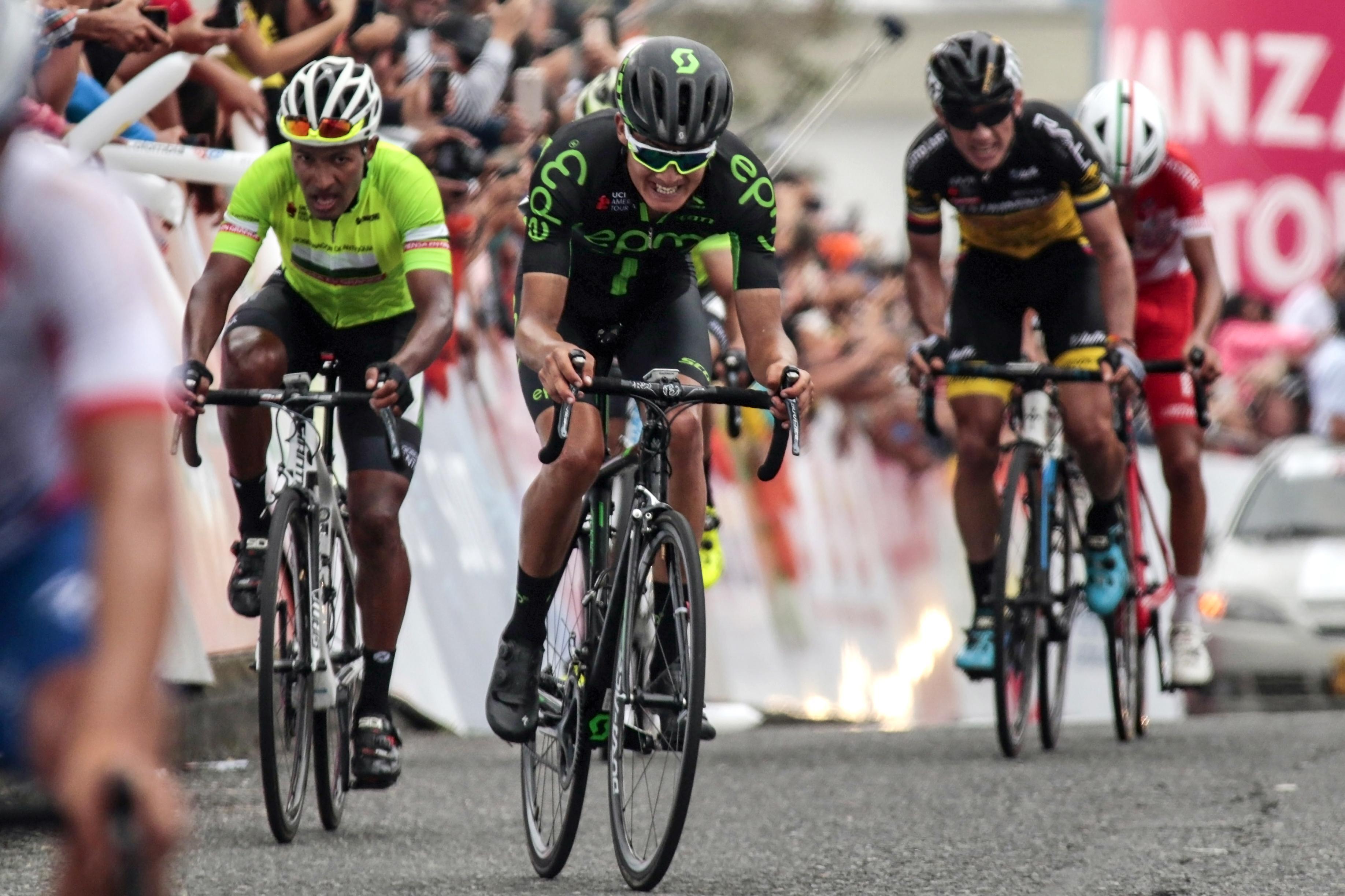 Oscar Sevilla was robbed in Bogota on a morning ride