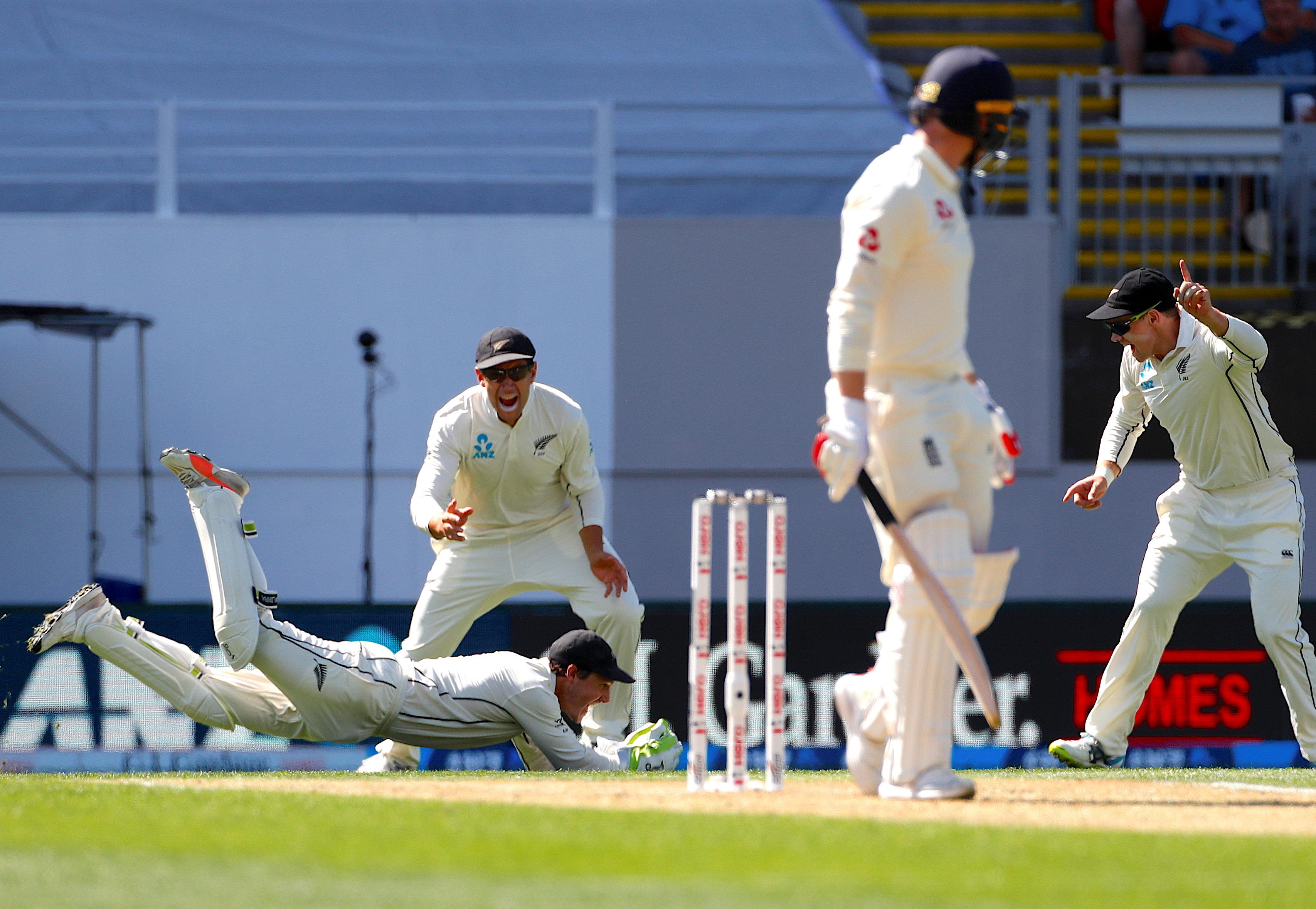 England struggled with the swinging pink ball