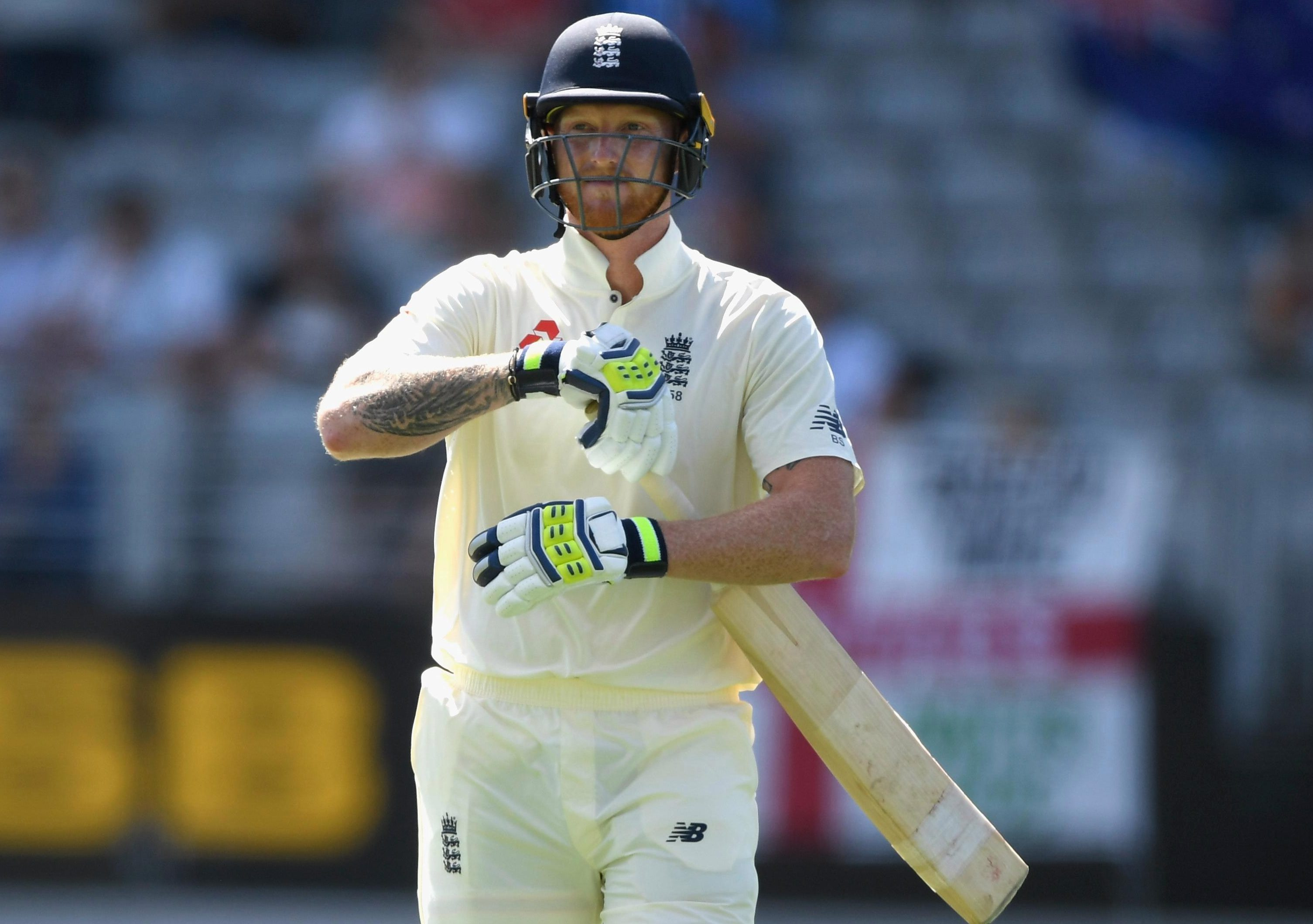Ben Stokes walks off as his return to Test side comes to an abrupt end