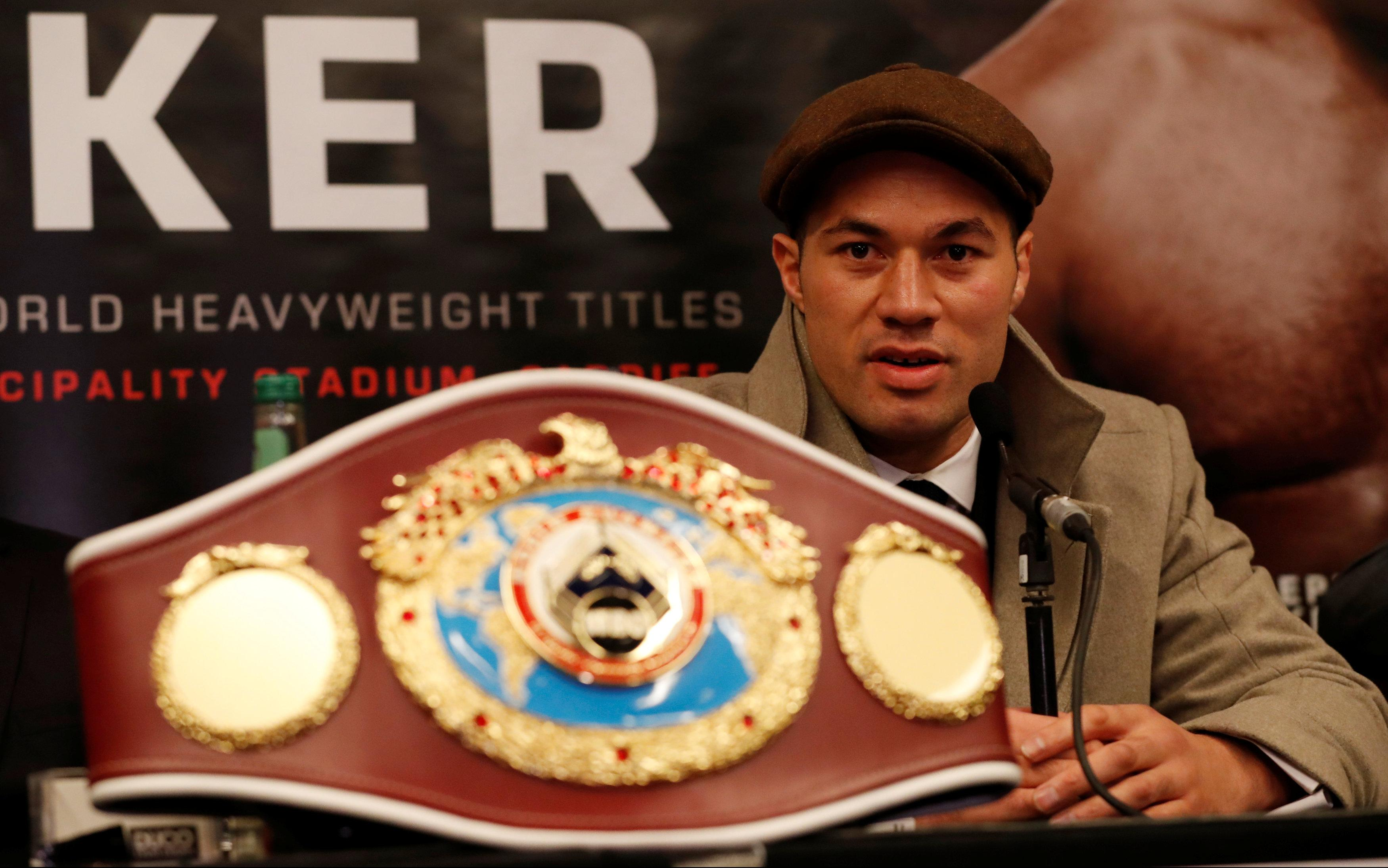 Joseph Parker beat Andy Ruiz in 2016 to be named the WBO heavyweight champion