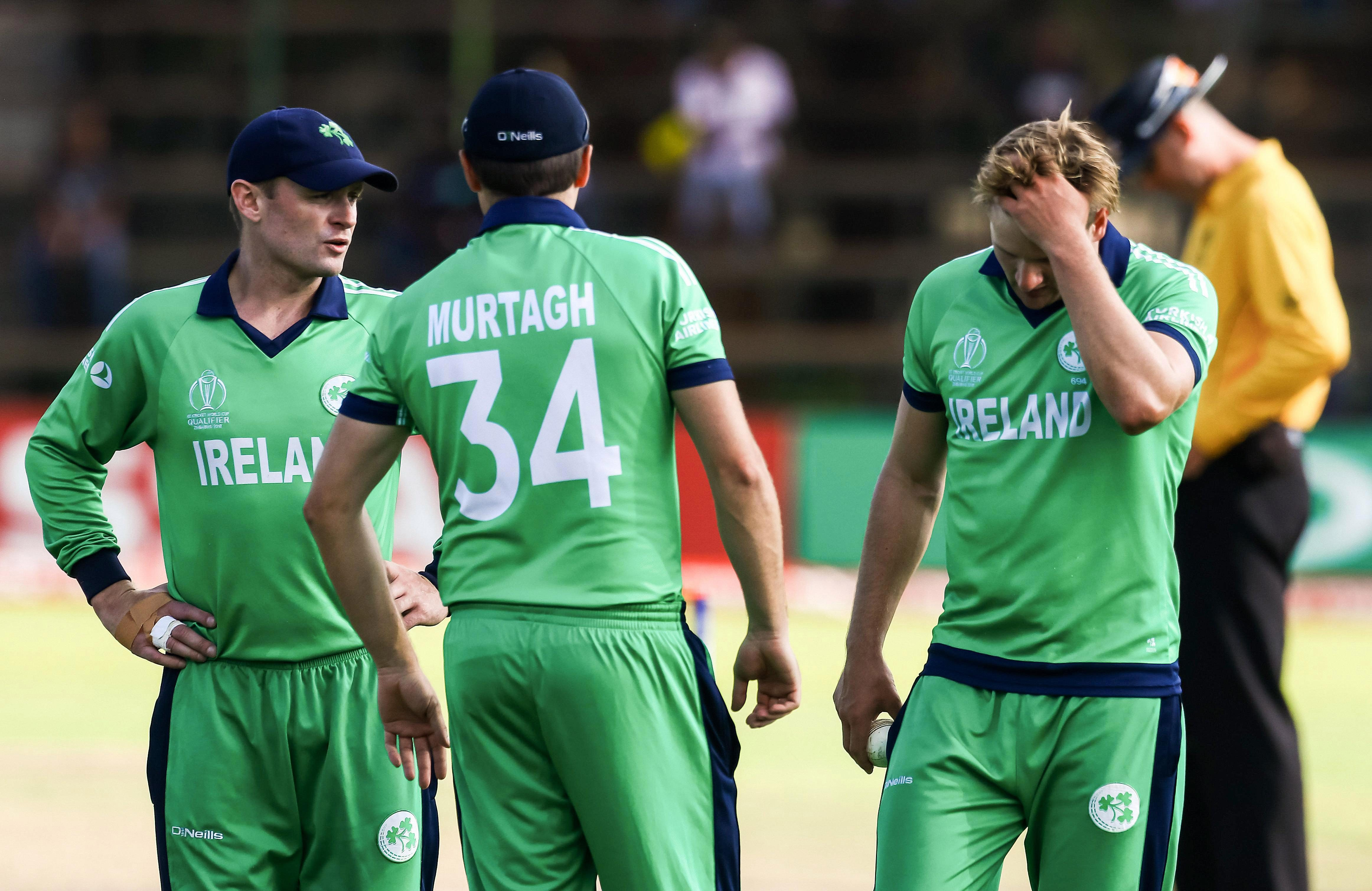 Ireland failed to qualify for the 2019 World Cup at Afghanistan's expense